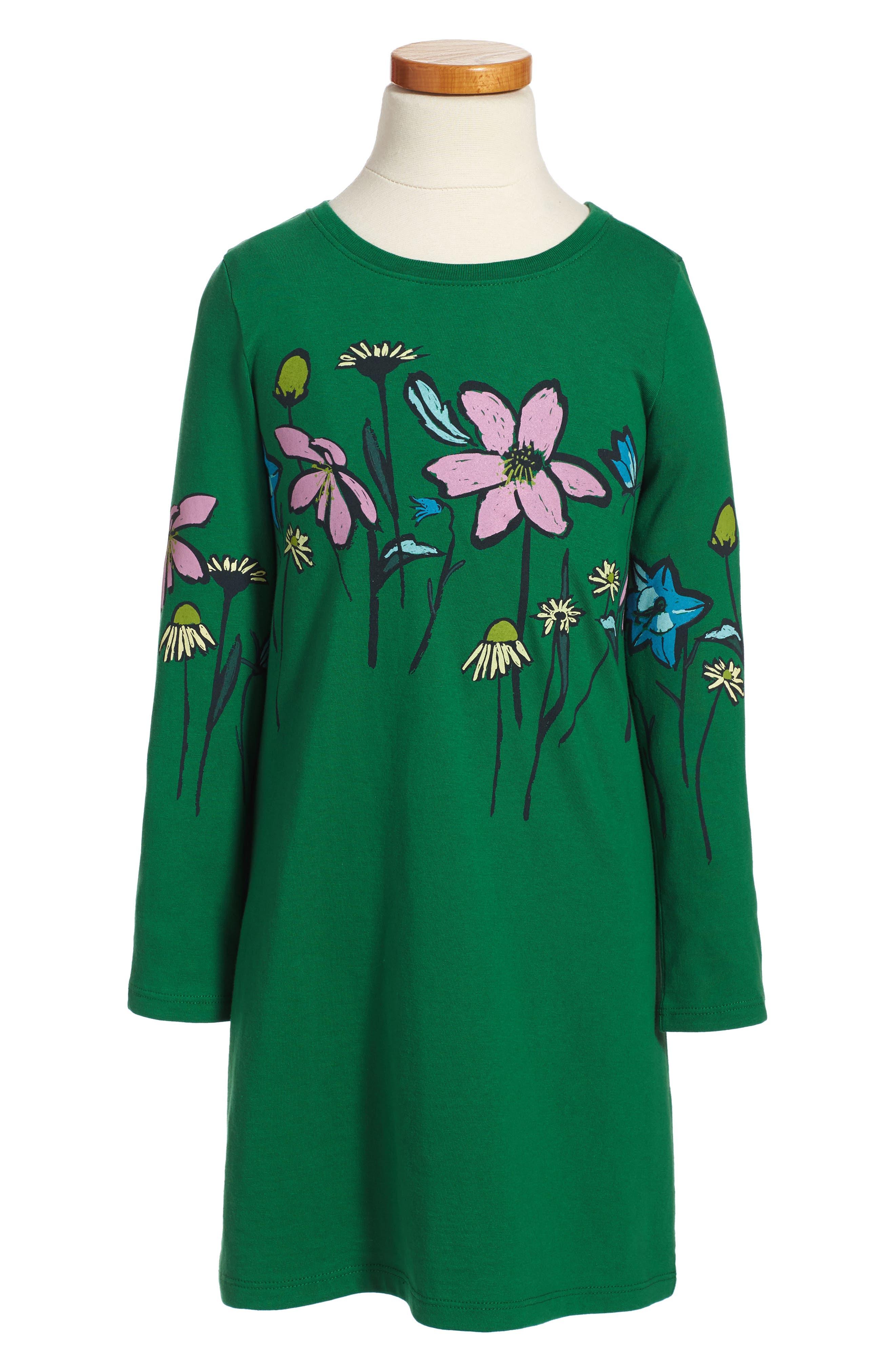 Alternate Image 1 Selected - Tea Collection Faileas Dress (Toddler Girls, Little Girls & Big Girls)