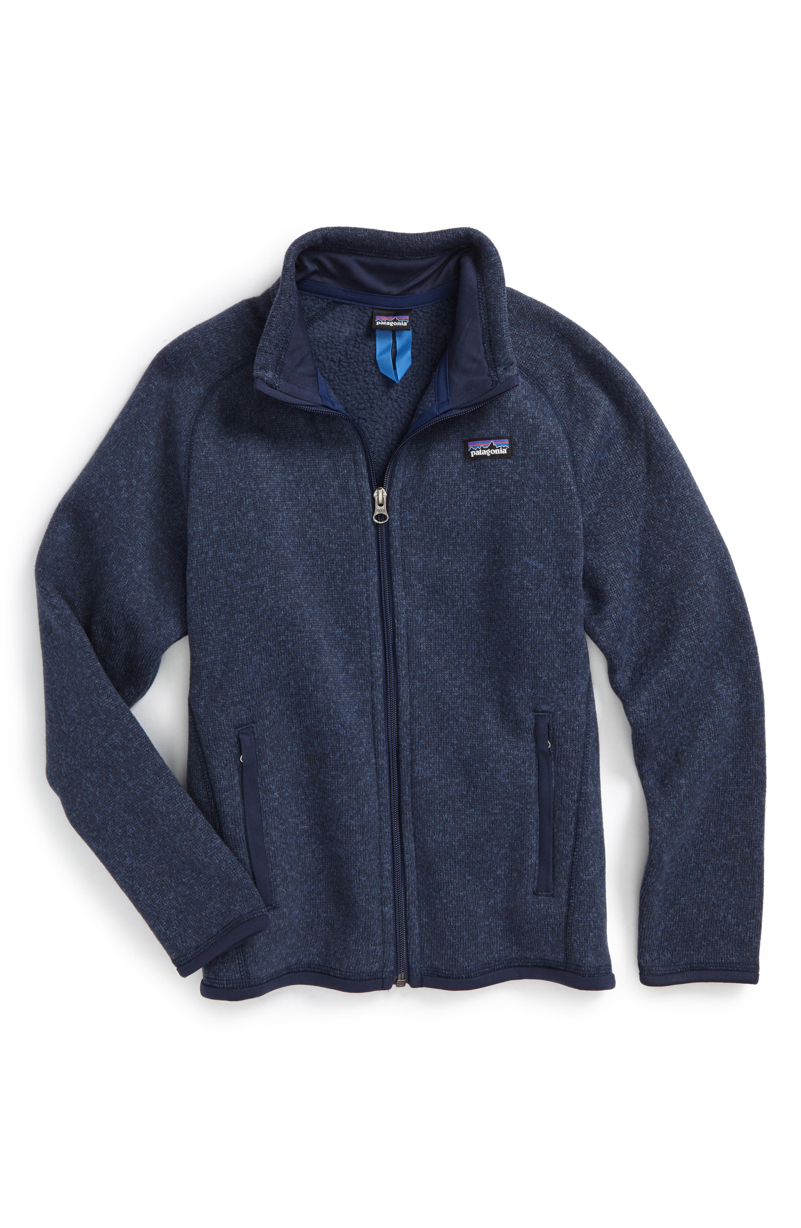 Main Image - Patagonia Better Sweater® Jacket (Little Girls & Big Girls)