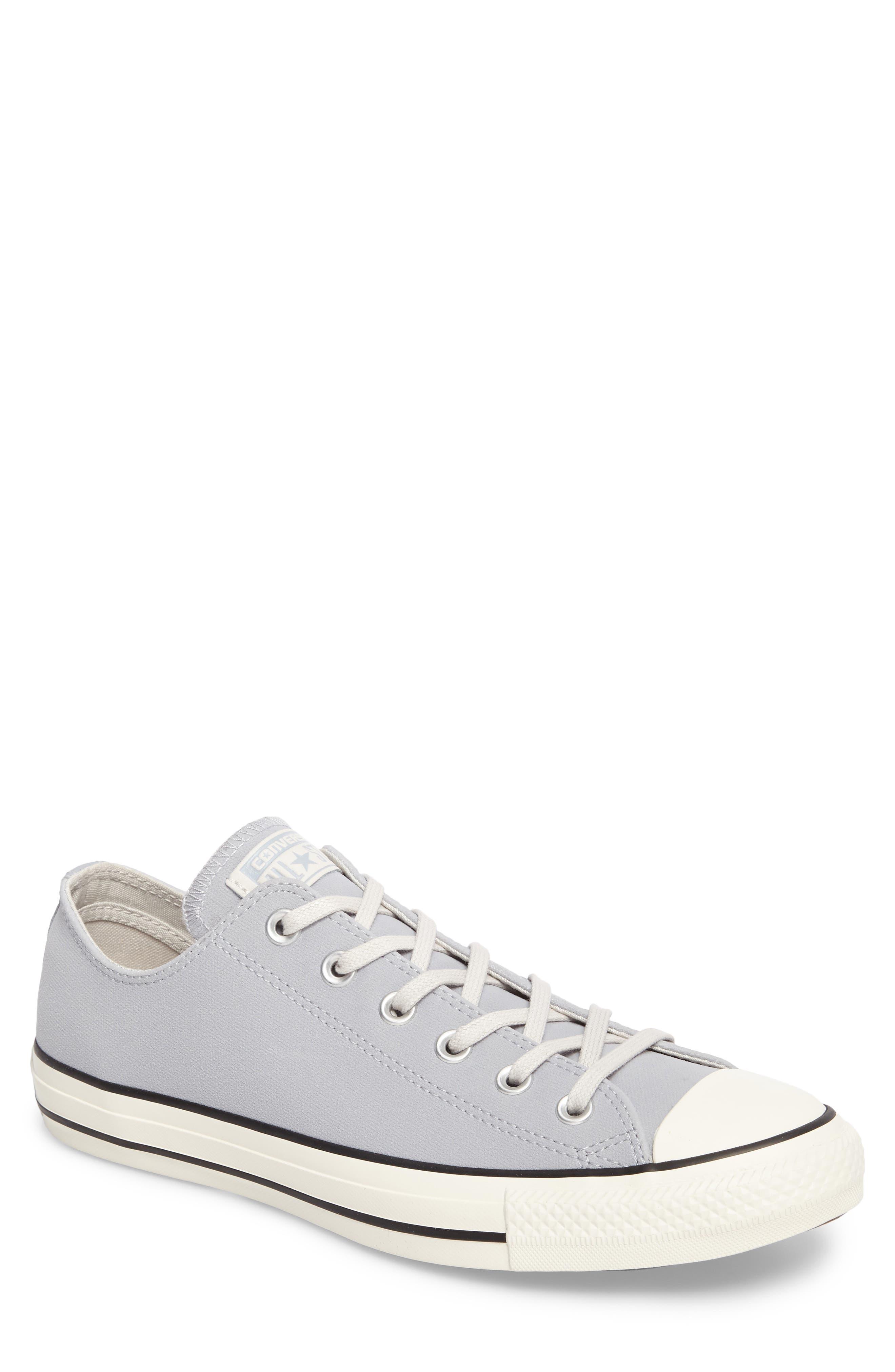 Chuck Taylor<sup>®</sup> All Star<sup>®</sup> Lo Sneaker,                             Main thumbnail 1, color,                             Wolf Grey