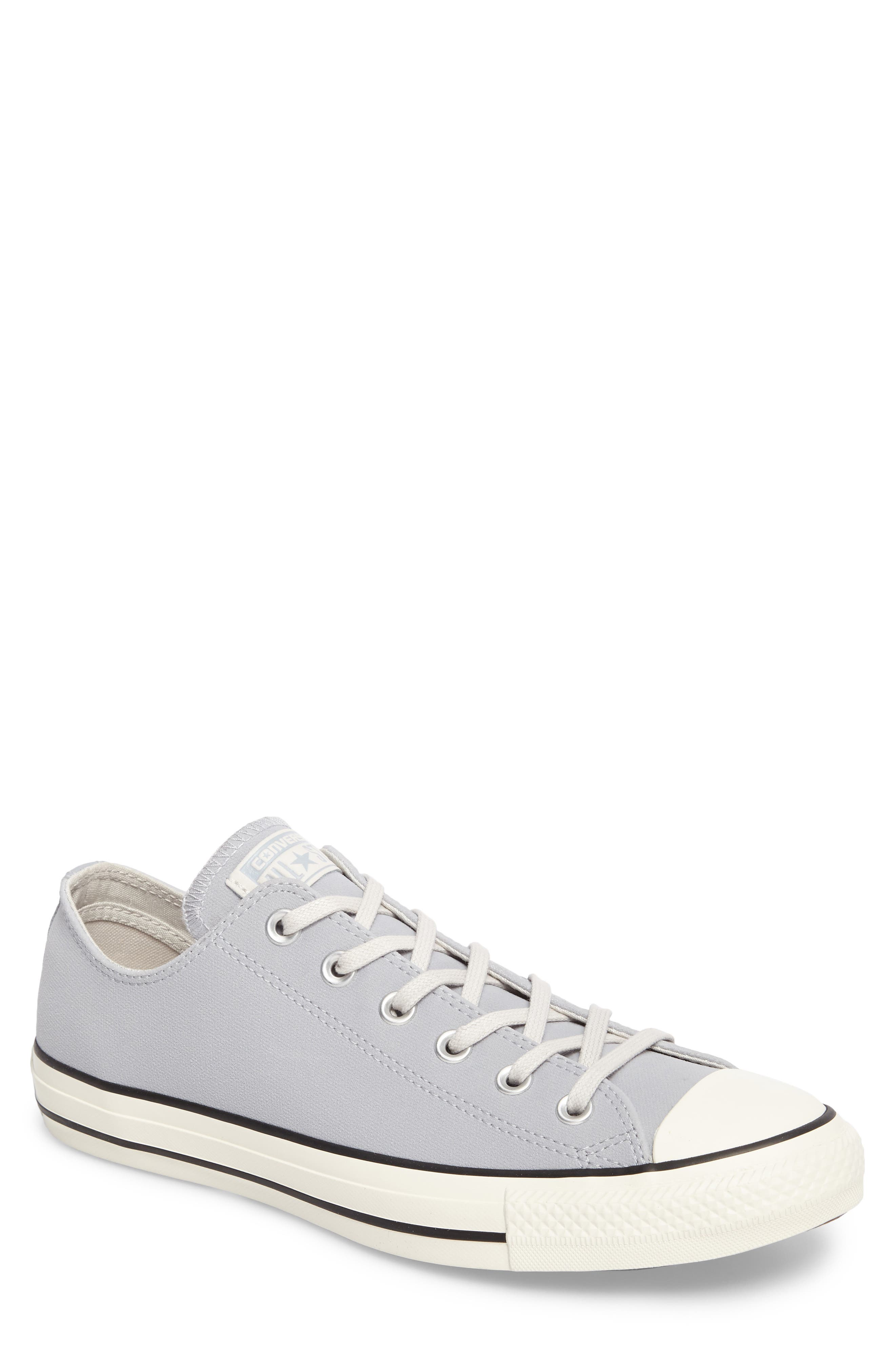 Chuck Taylor<sup>®</sup> All Star<sup>®</sup> Lo Sneaker,                         Main,                         color, Wolf Grey