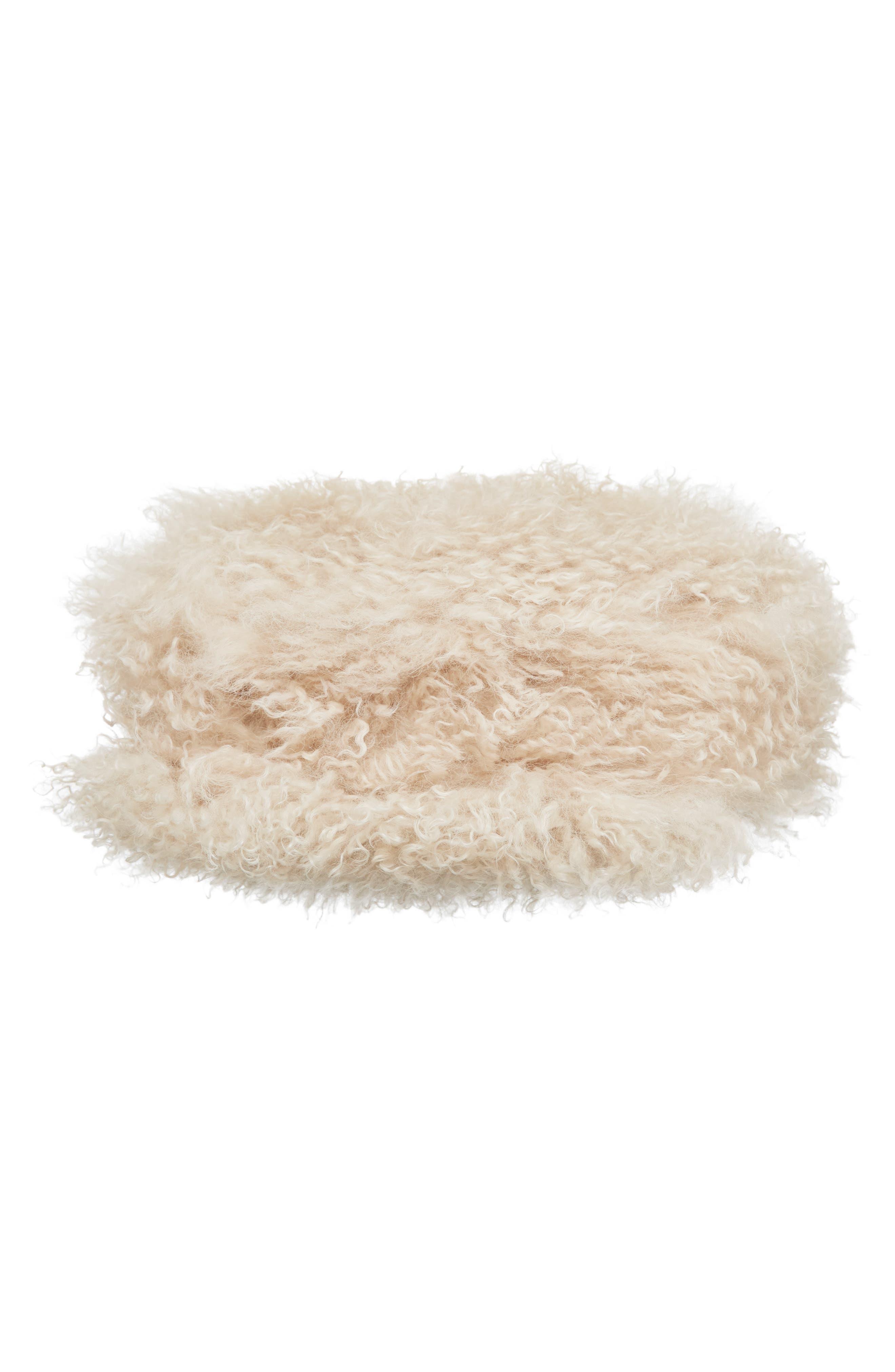 Alternate Image 5  - Tory Burch Sawyer Genuine Shearling Shoulder Bag