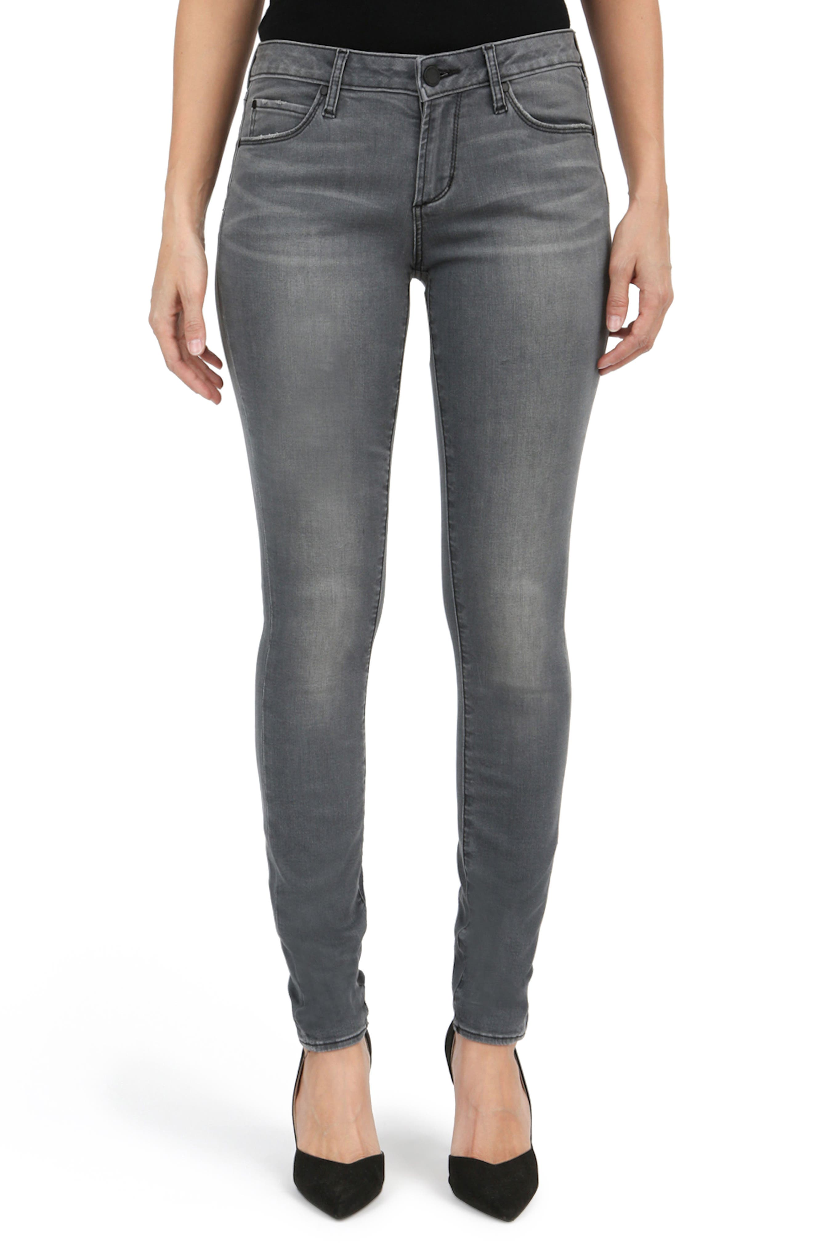 Alternate Image 1 Selected - Articles of Society Mya Skinny Jeans (Eagle)