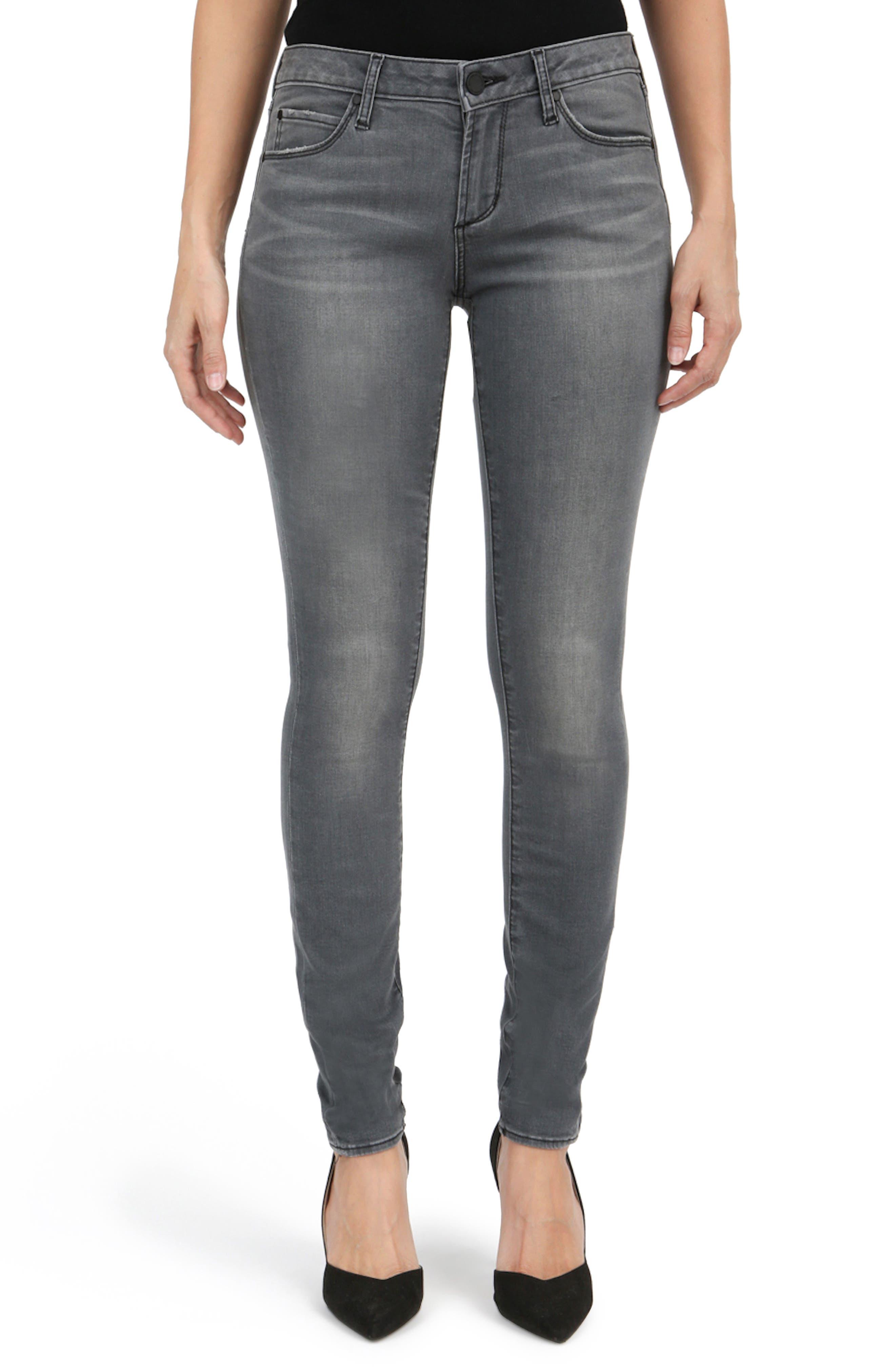 Main Image - Articles of Society Mya Skinny Jeans (Eagle)