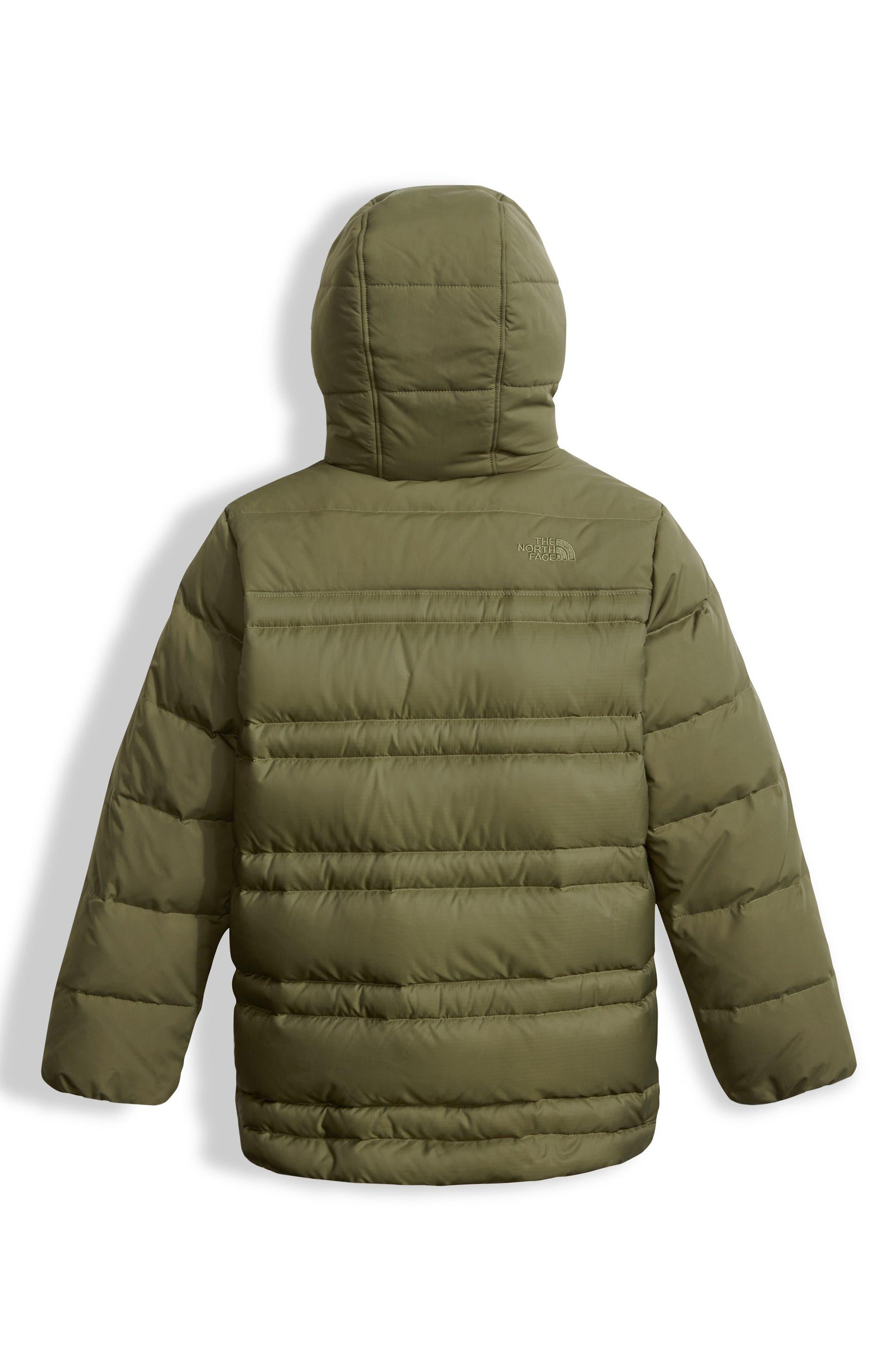 Franklin Water Resistant 550-Fill Down Jacket,                             Alternate thumbnail 2, color,                             Burnt Olive Green