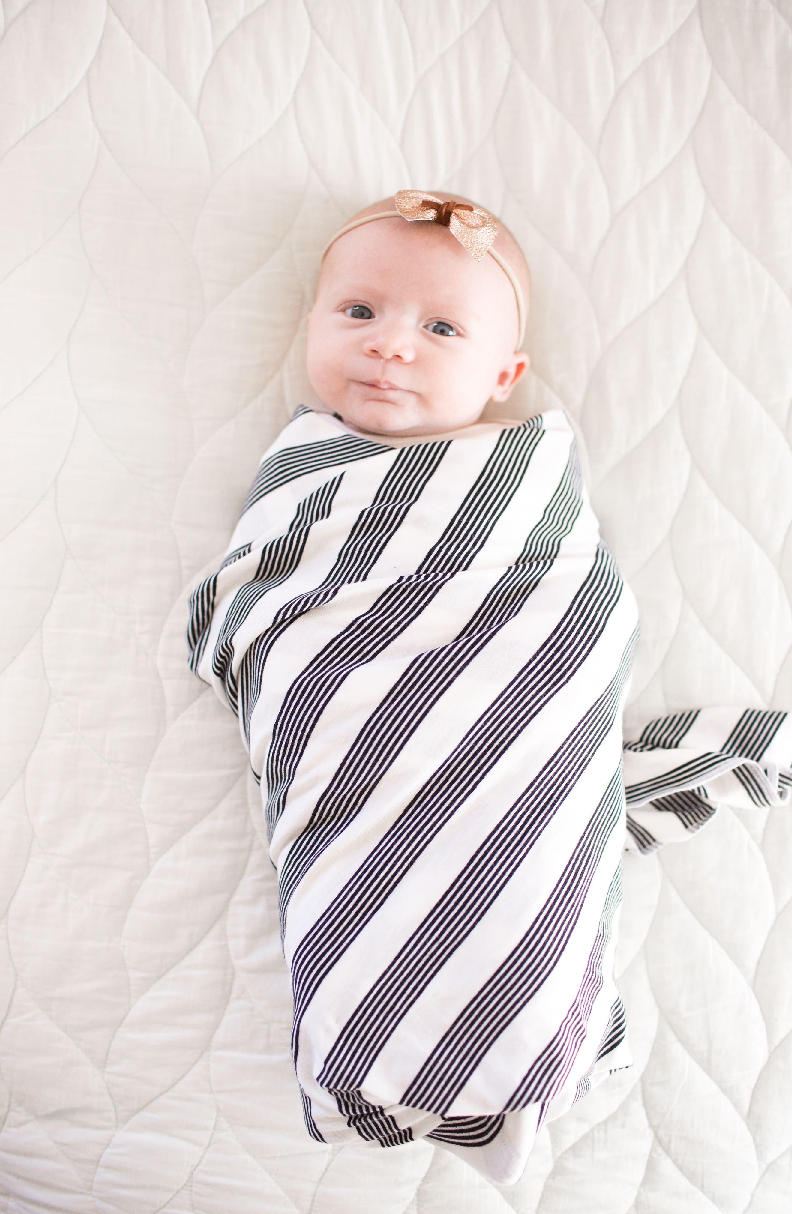 Alternate Image 2  - Copper Pearl Bloom Multiuse Cover & Swaddle Blanket Gift Set