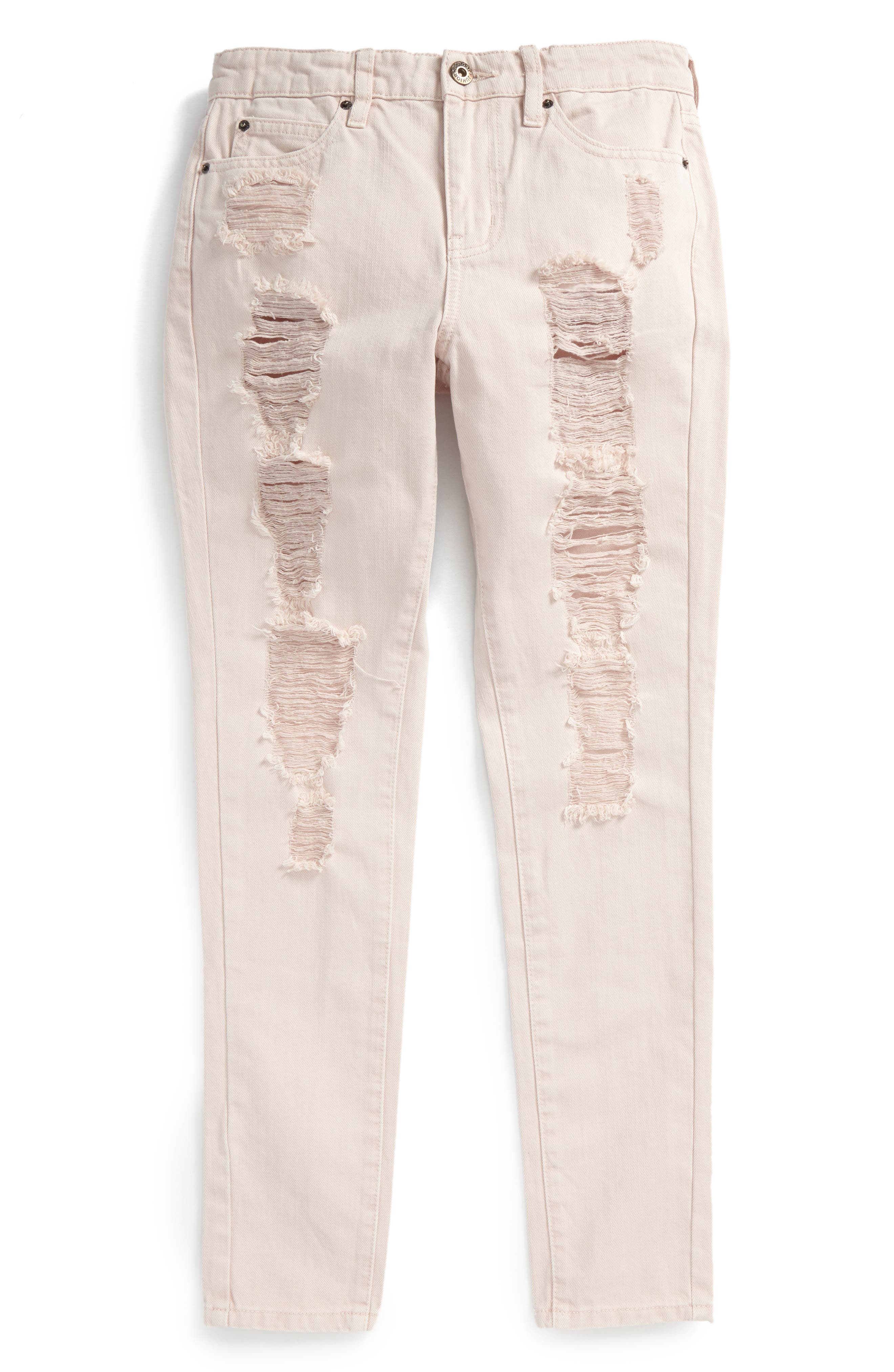 Bardot Junior Jasmine Distressed Skinny Jeans (Big Girls)