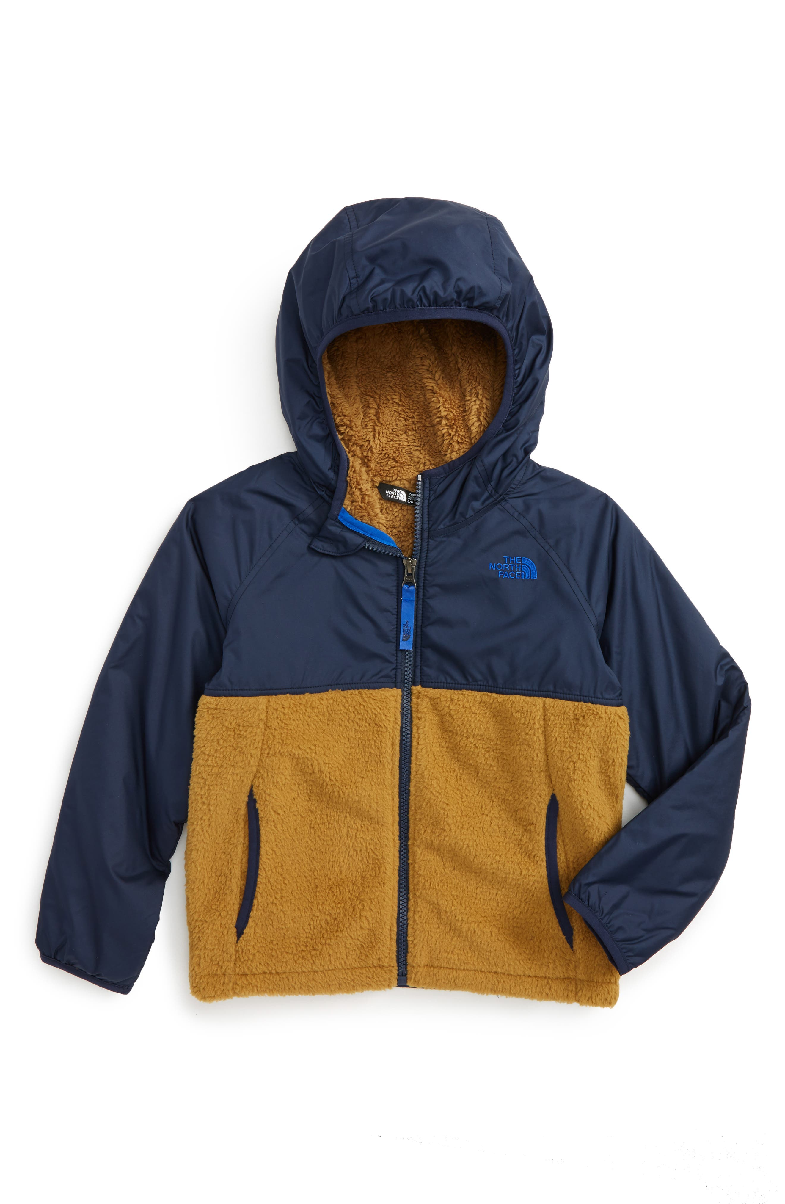 Alternate Image 1 Selected - The North Face Sherparazo Hoodie (Toddler Boys & Little Boys)