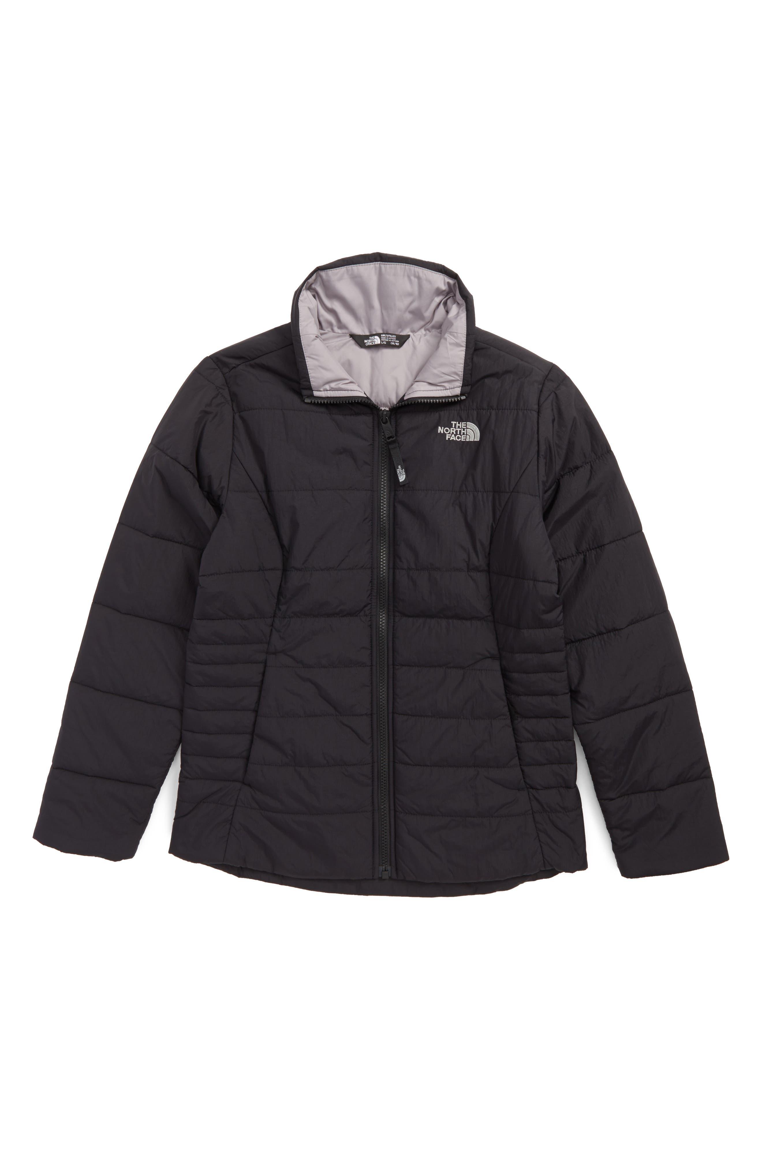 Harway Heatseeker<sup>™</sup>Water-Resistant Jacket,                         Main,                         color, Tnf Black
