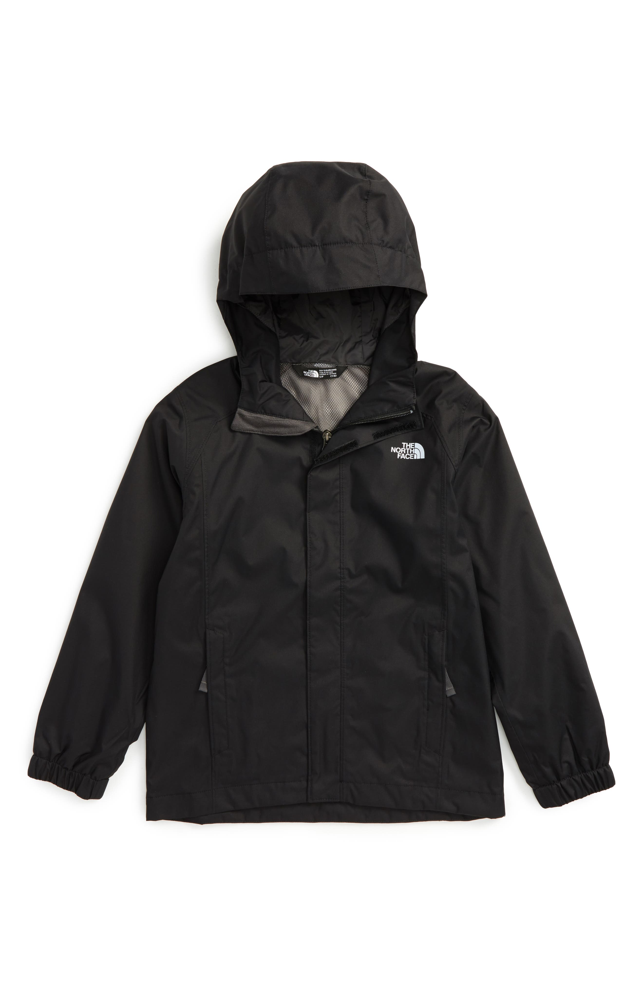 'Resolve' Waterproof Jacket,                             Main thumbnail 1, color,                             5 Tnf Black