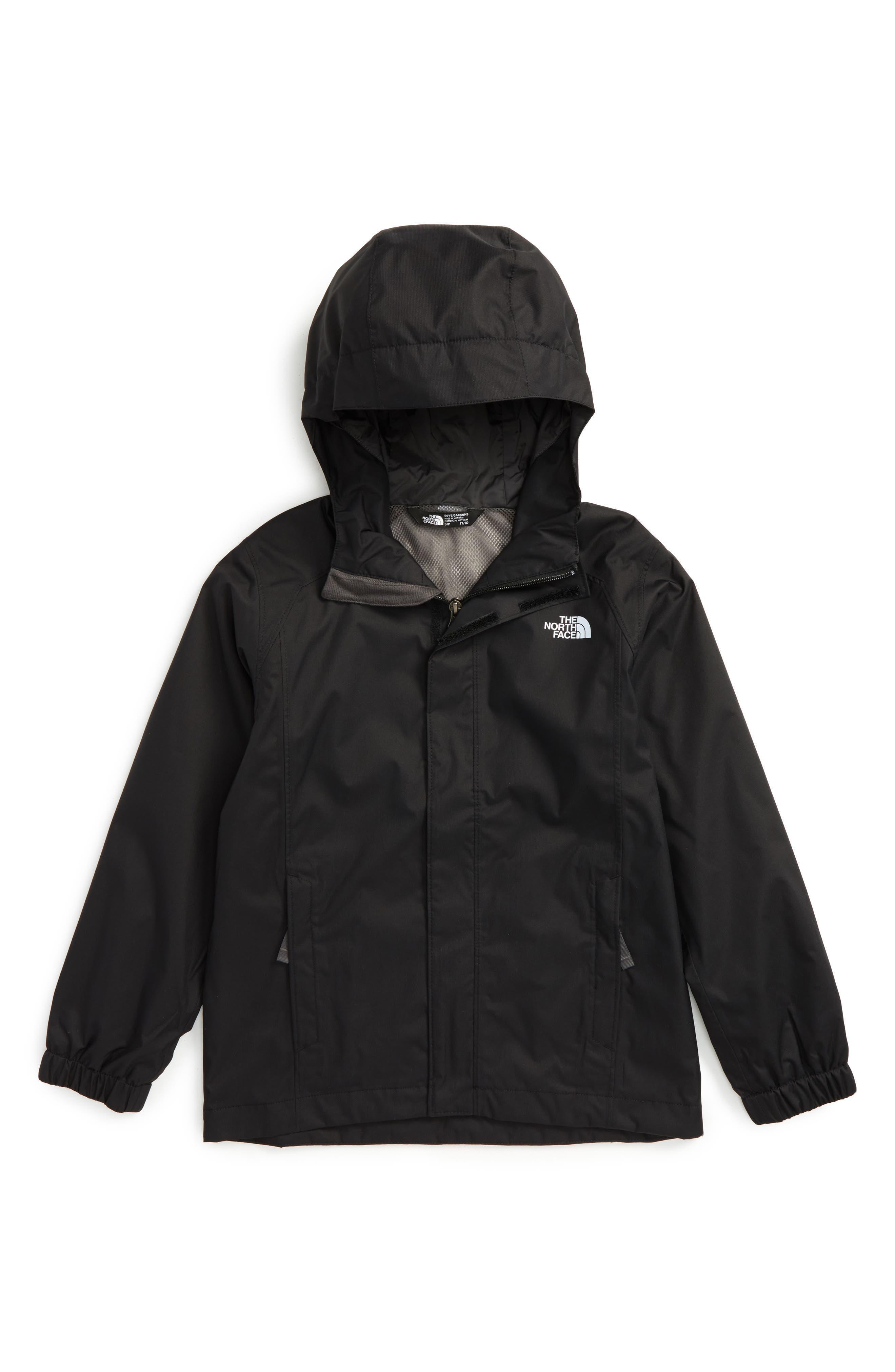 'Resolve' Waterproof Jacket,                         Main,                         color, 5 Tnf Black