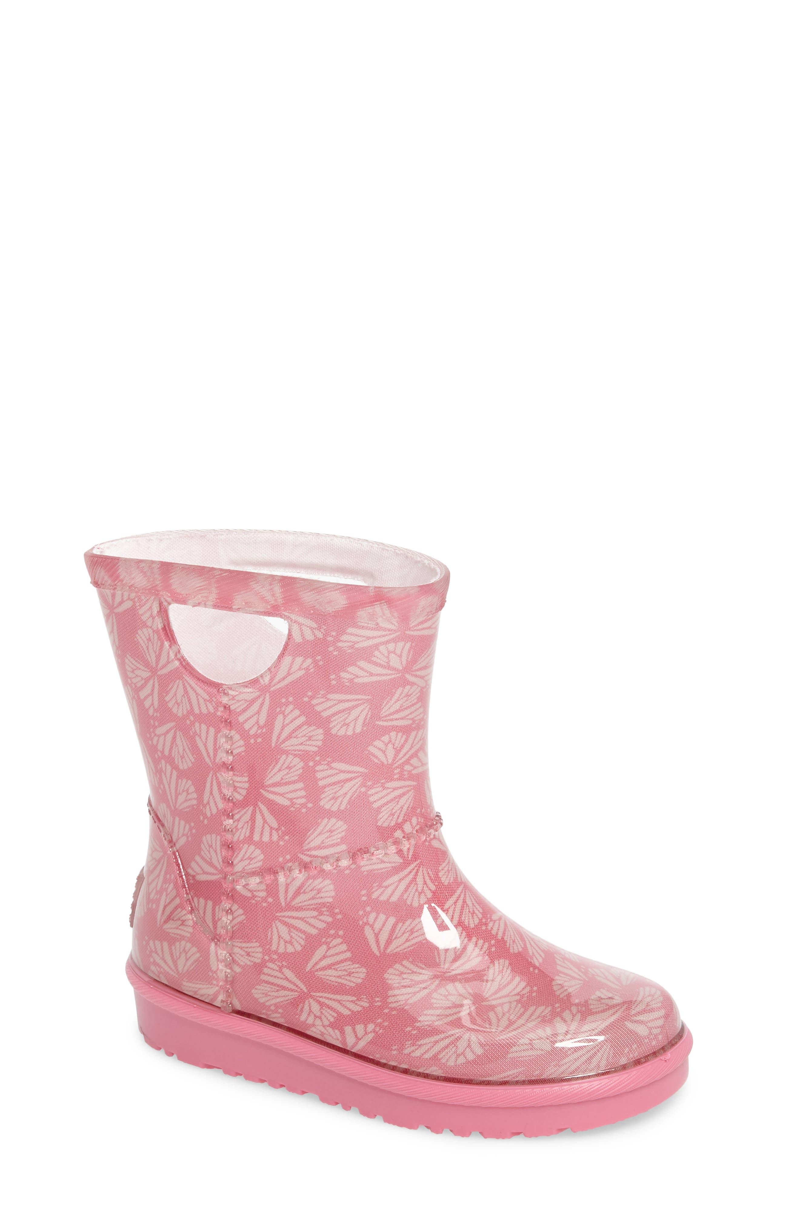 Rahjee Rain Boot,                             Main thumbnail 1, color,                             Pink Azalea