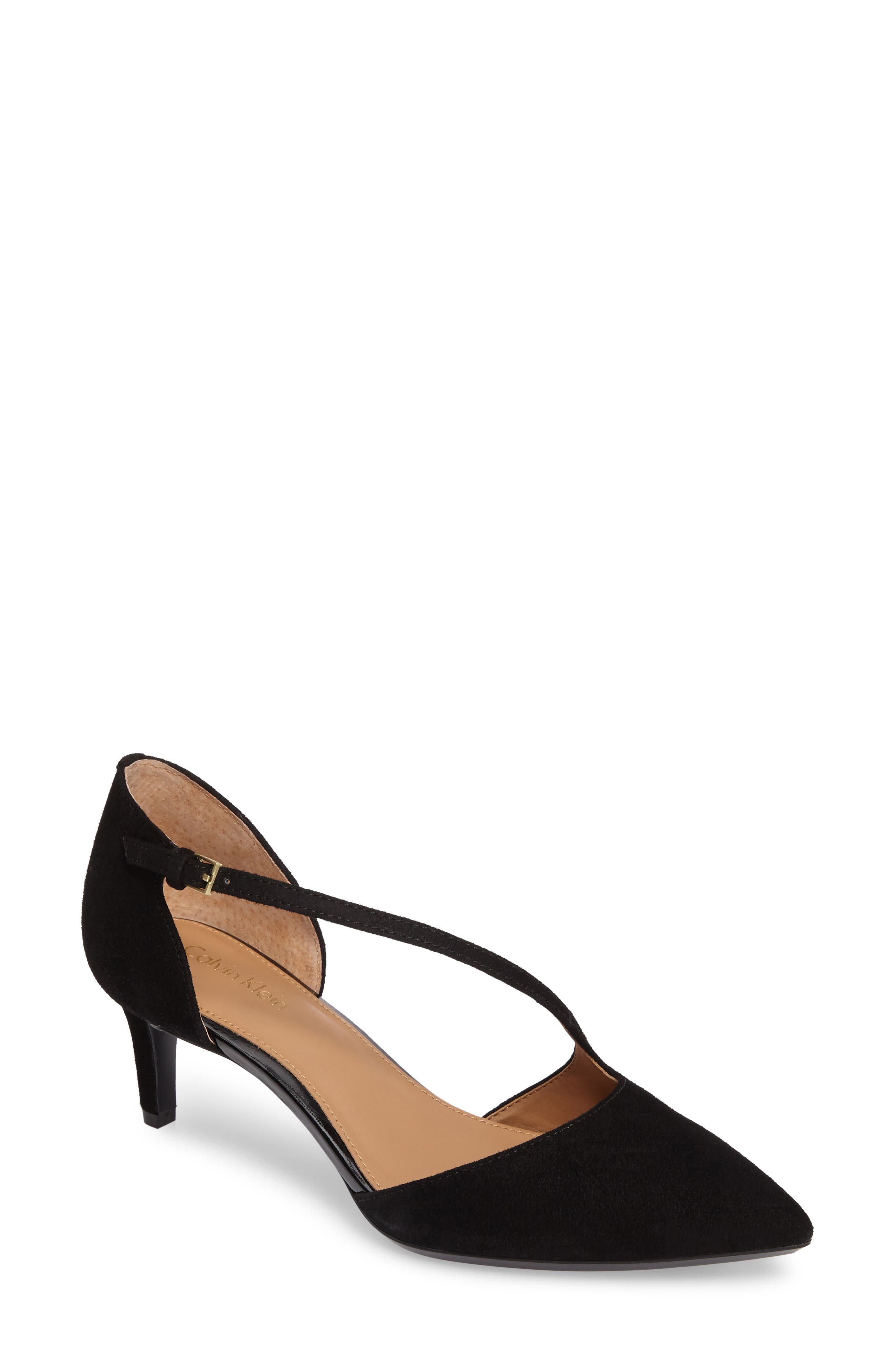 Alternate Image 1 Selected - Calvin Klein Page Pointy Toe Pump (Women)