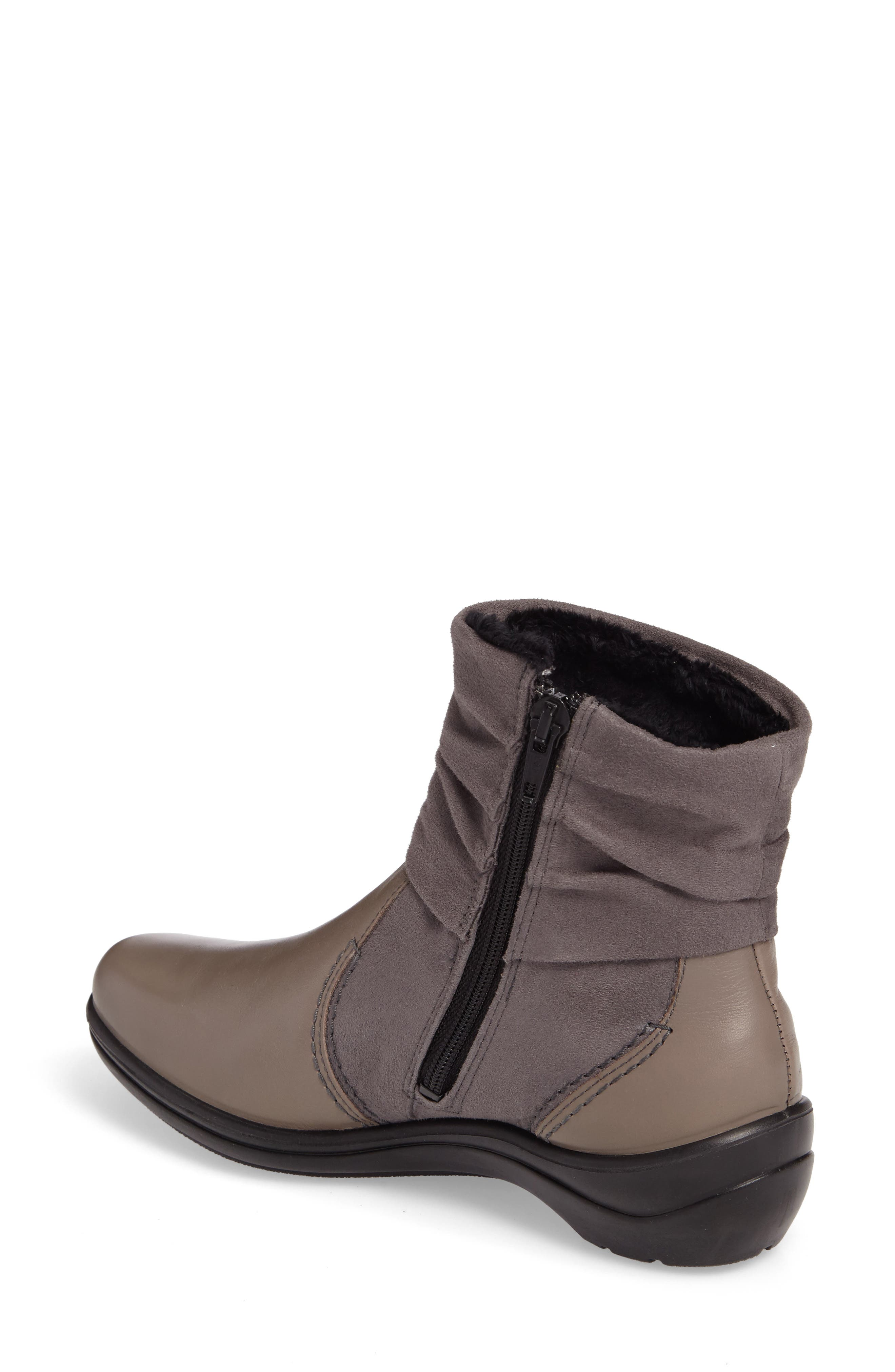 'Cassie 12' Boot,                             Alternate thumbnail 2, color,                             Grey Leather