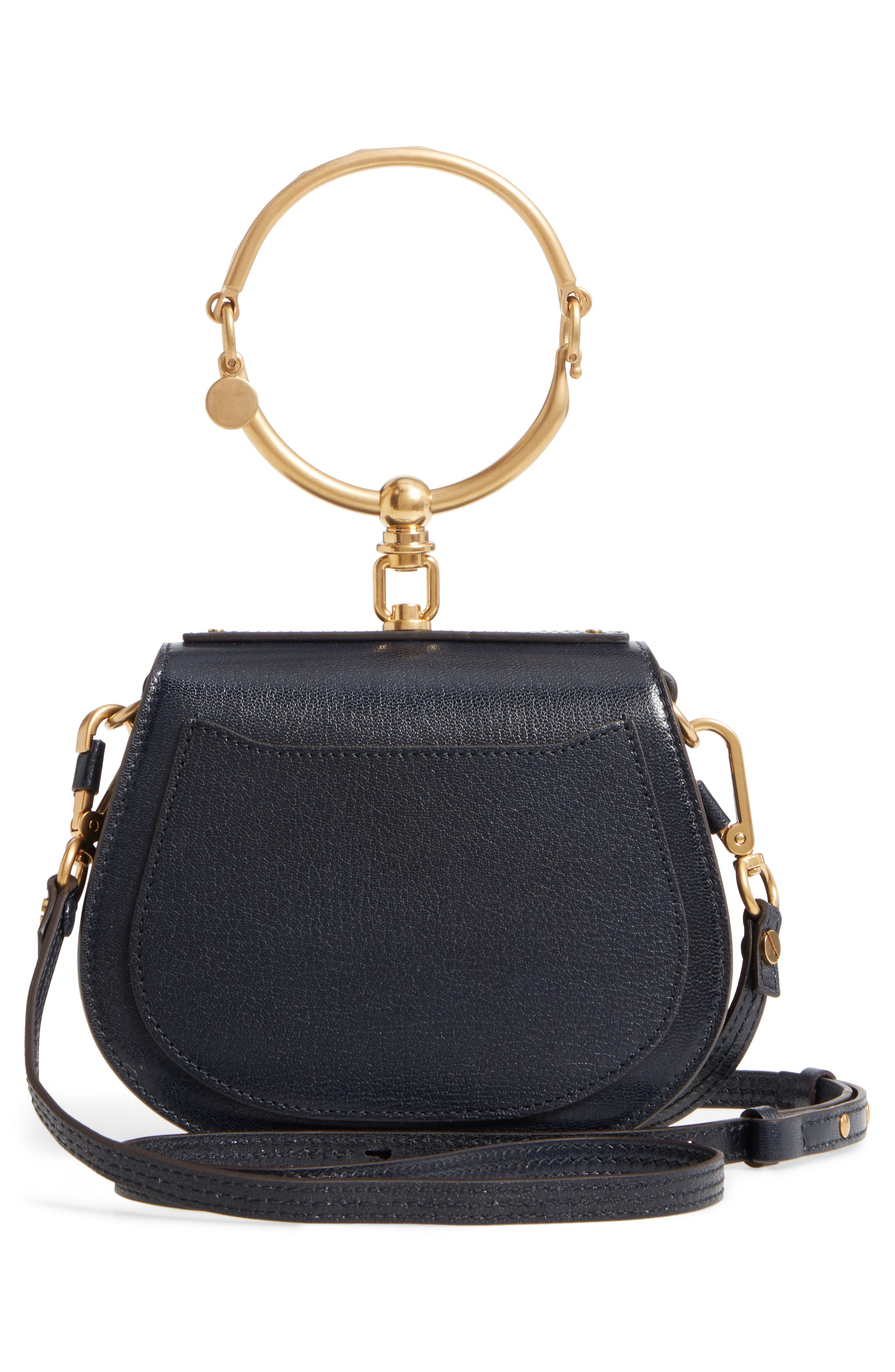 Small Nile Leather Crossbody Bag,                             Alternate thumbnail 2, color,                             Full Blue