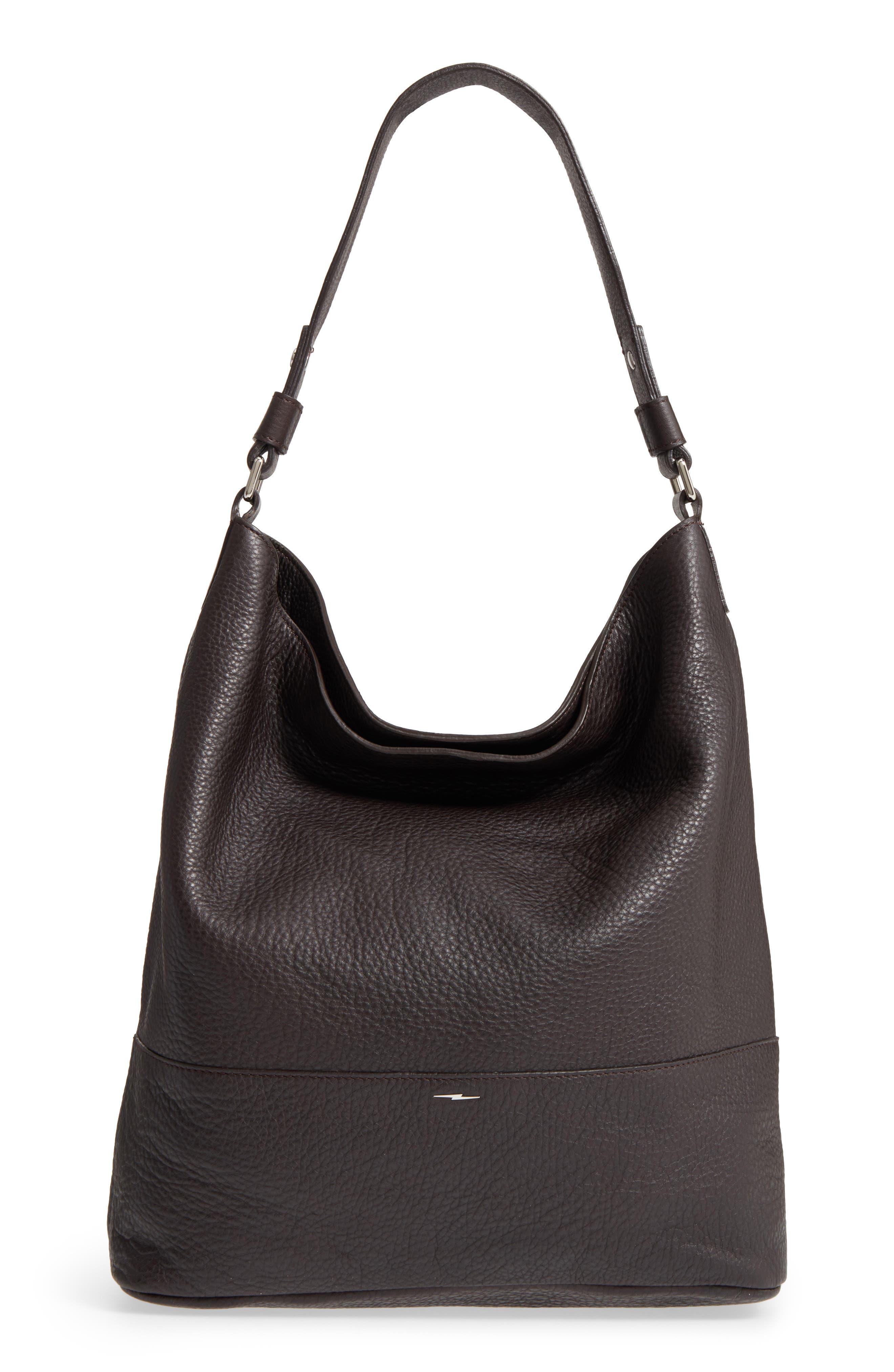 Alternate Image 1 Selected - Shinola Relaxed Calfskin Leather Hobo Bag