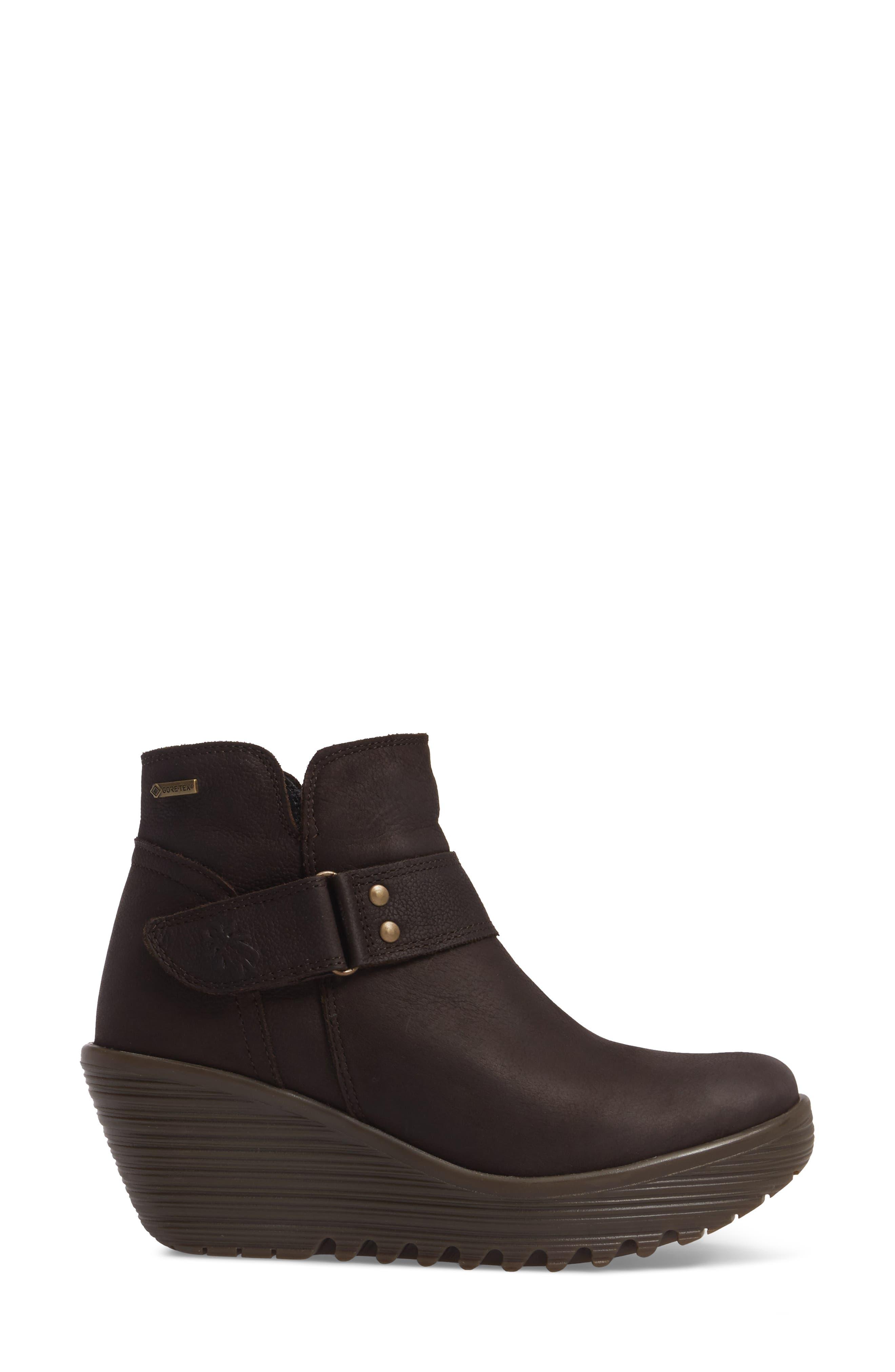 Alternate Image 3  - Fly London Yock Waterproof Gore-Tex® Wedge Boot (Women)