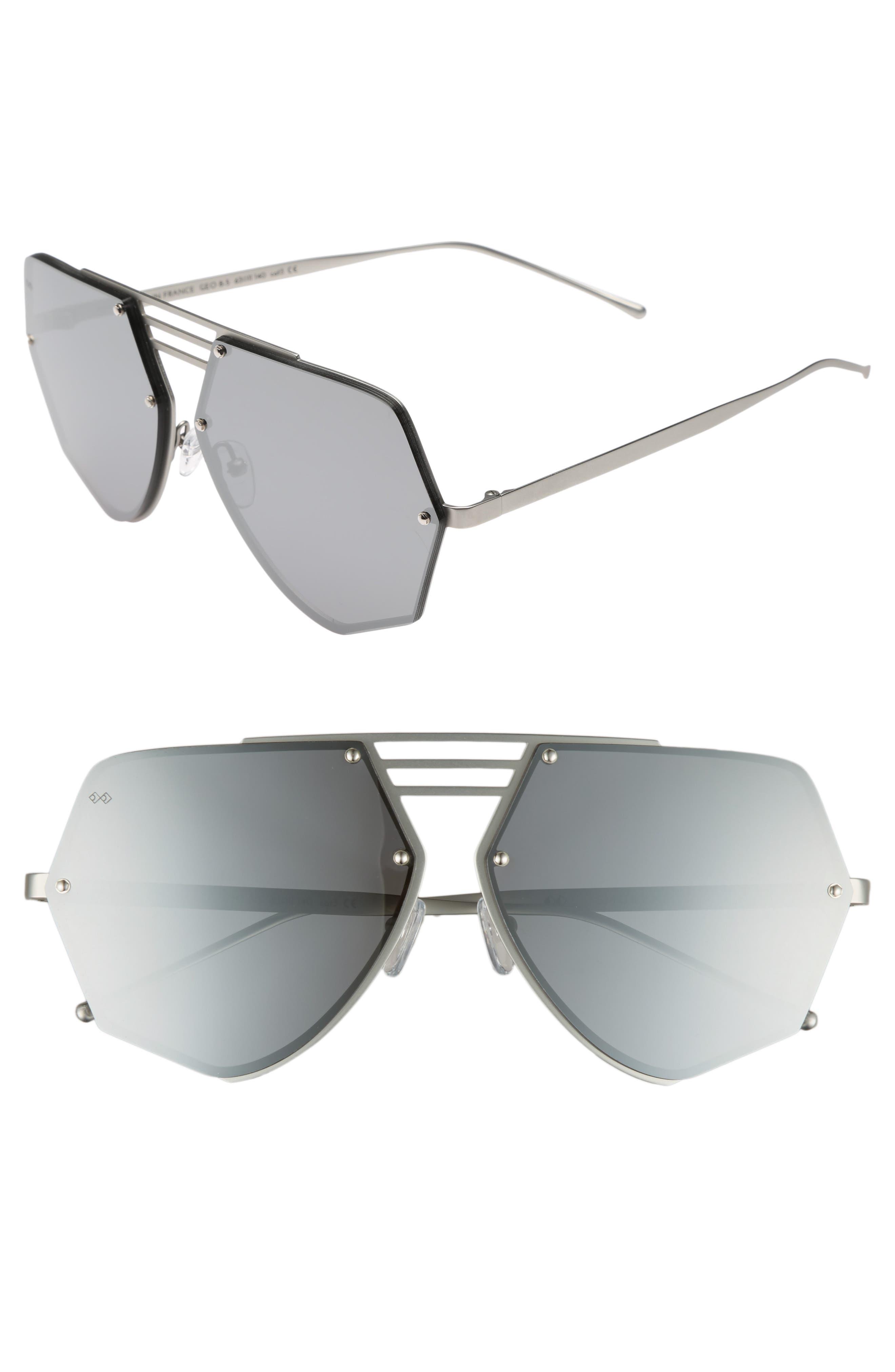 Alternate Image 1 Selected - Smoke x Mirrors Geo VIII 63mm Sunglasses