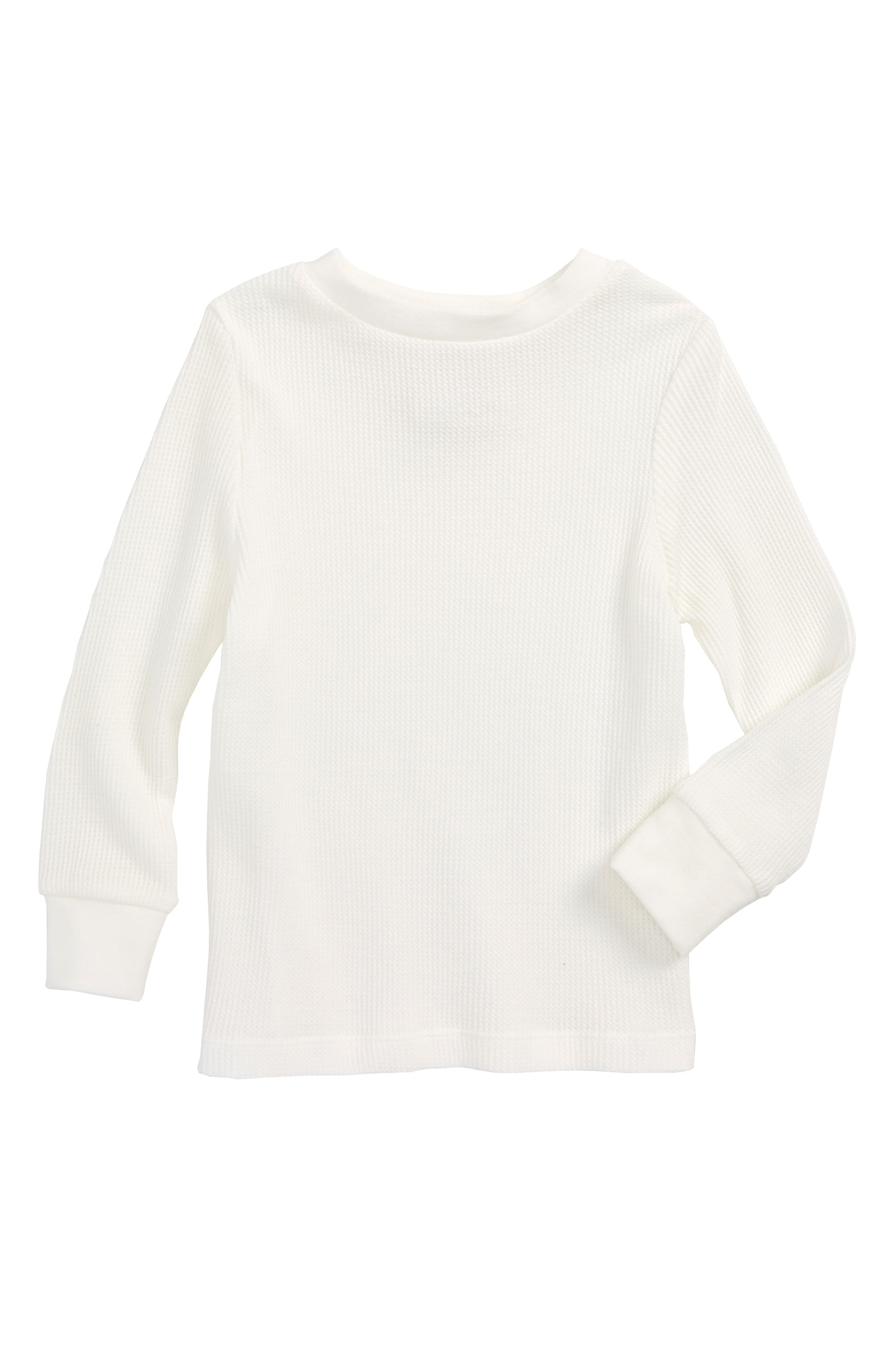 Thermal T-Shirt,                         Main,                         color, Off White