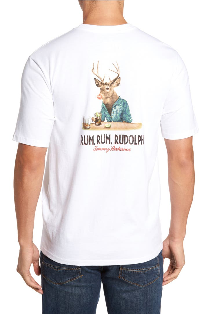 Tommy bahama rum rum rudolph t shirt nordstrom for Do tommy bahama shirts run big
