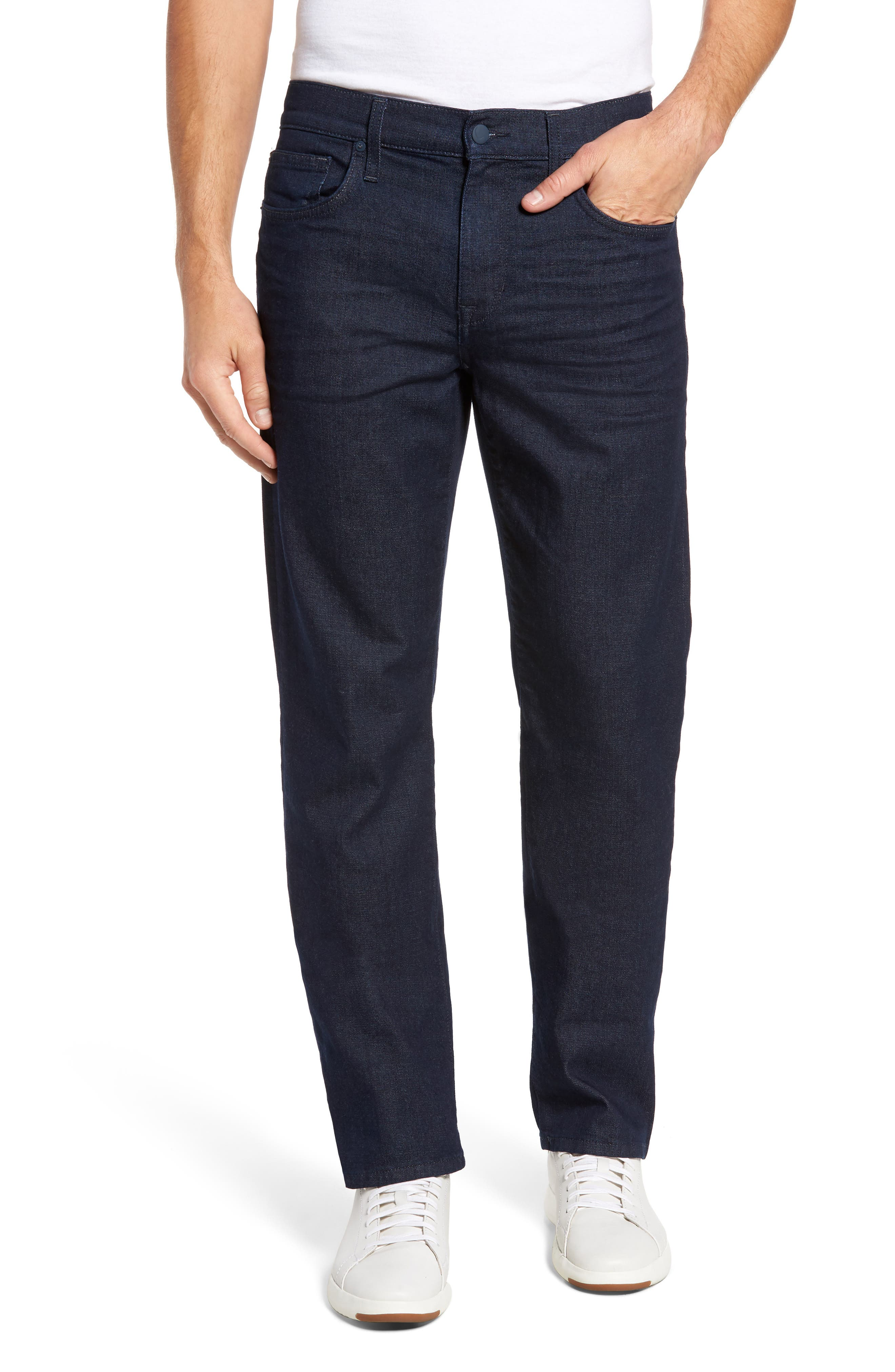 Classic Straight Fit Jeans,                         Main,                         color, Towe