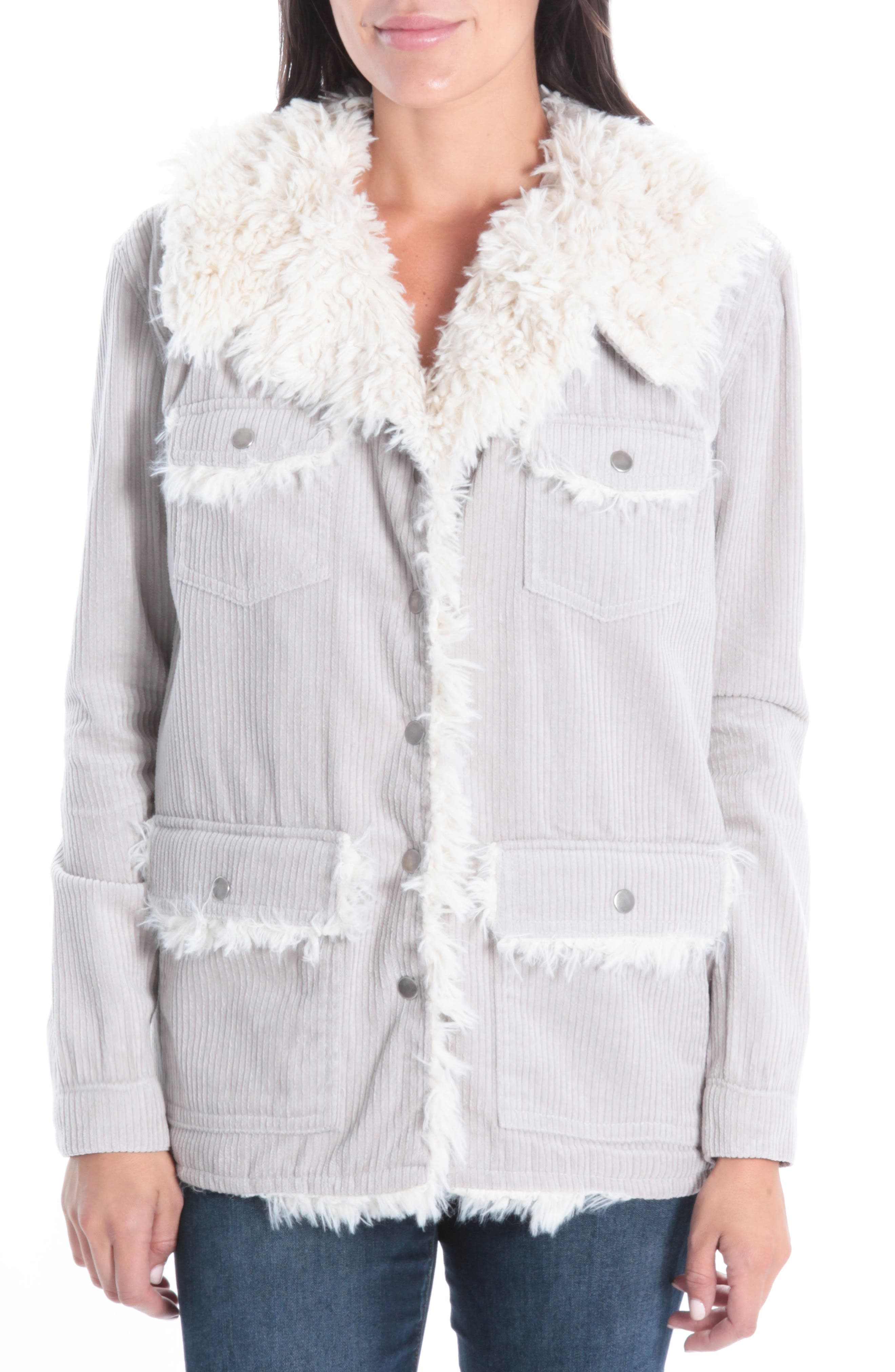 KUT from the Kloth Kirsten Faux Shearling Lined Jacket