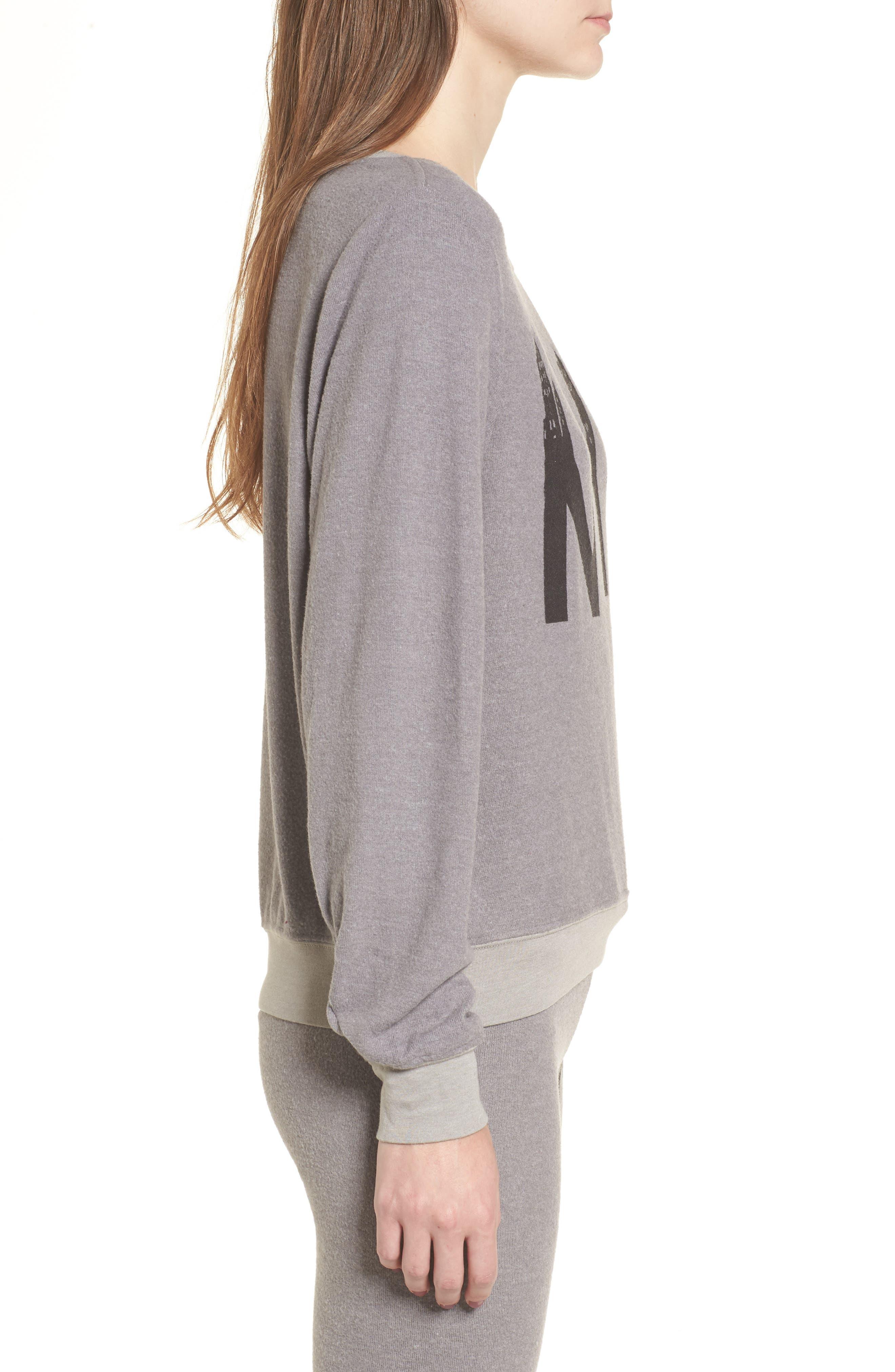 NYC Sweatshirt,                             Alternate thumbnail 3, color,                             Vintage Grey