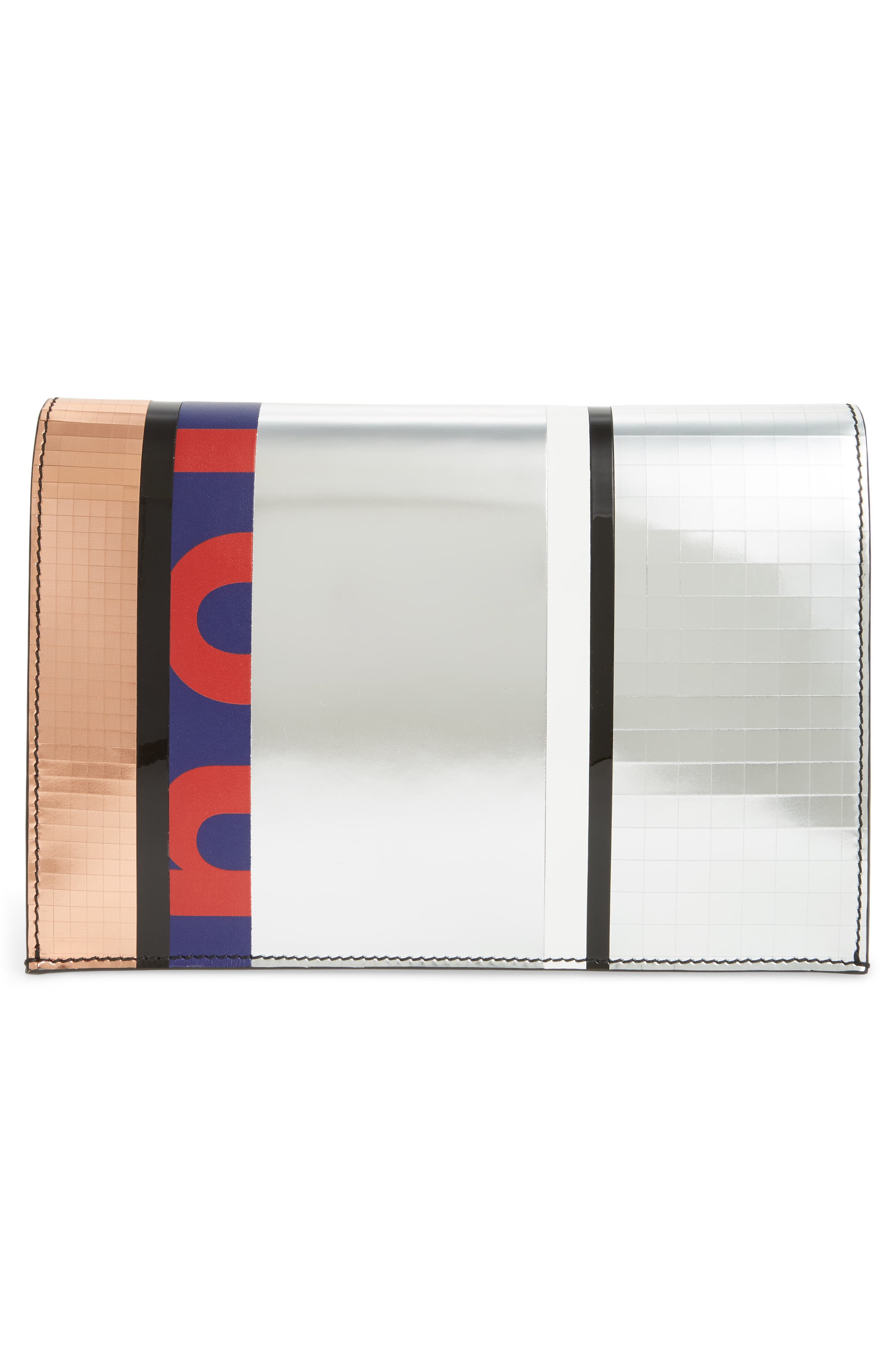 Alternate Image 3  - Proenza Schouler Small Metallic Leather Lunch Bag Clutch