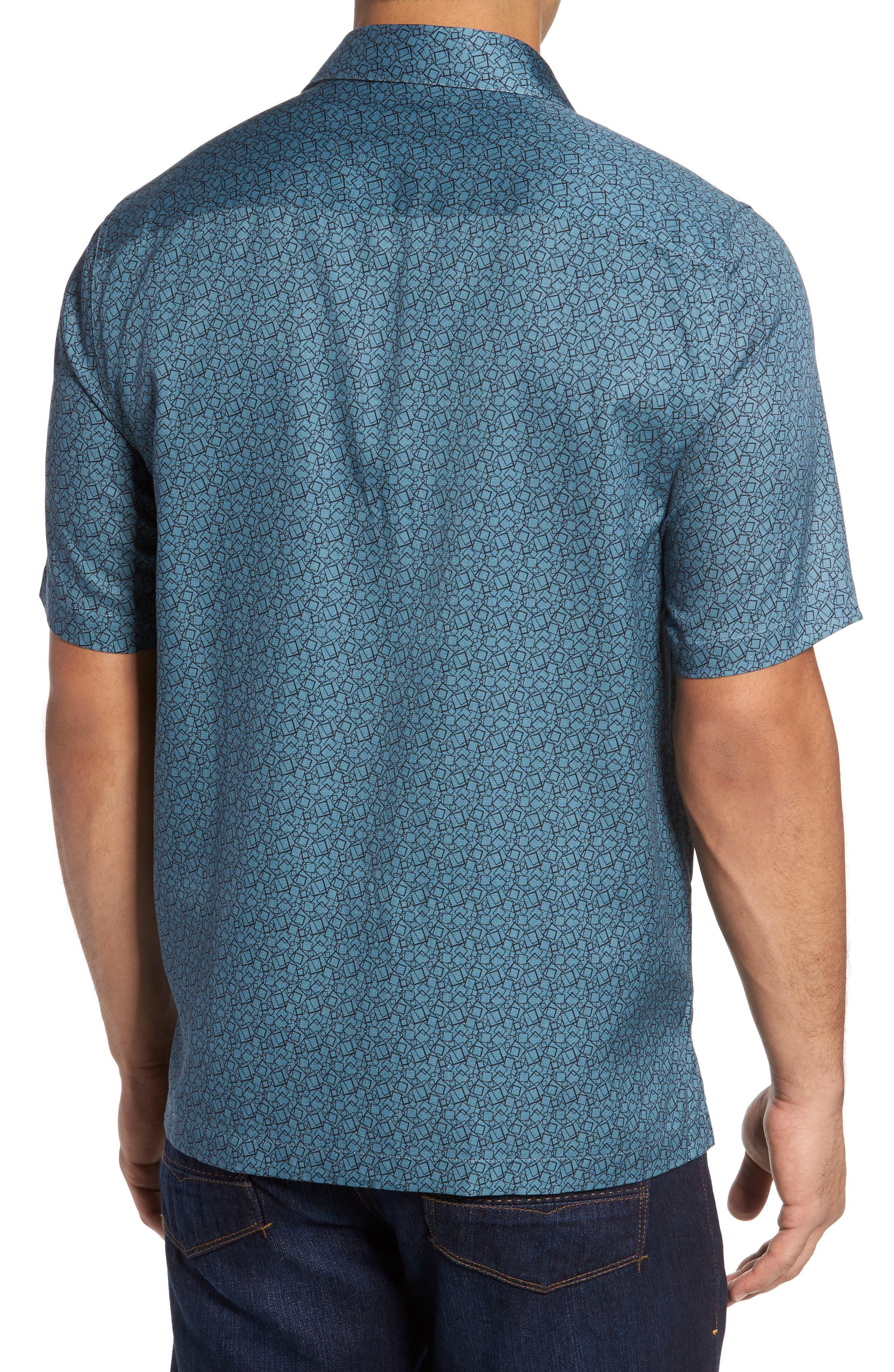 Alternate Image 2  - Nat Nast Blizzard Classic Fit Silk Blend Sport Shirt