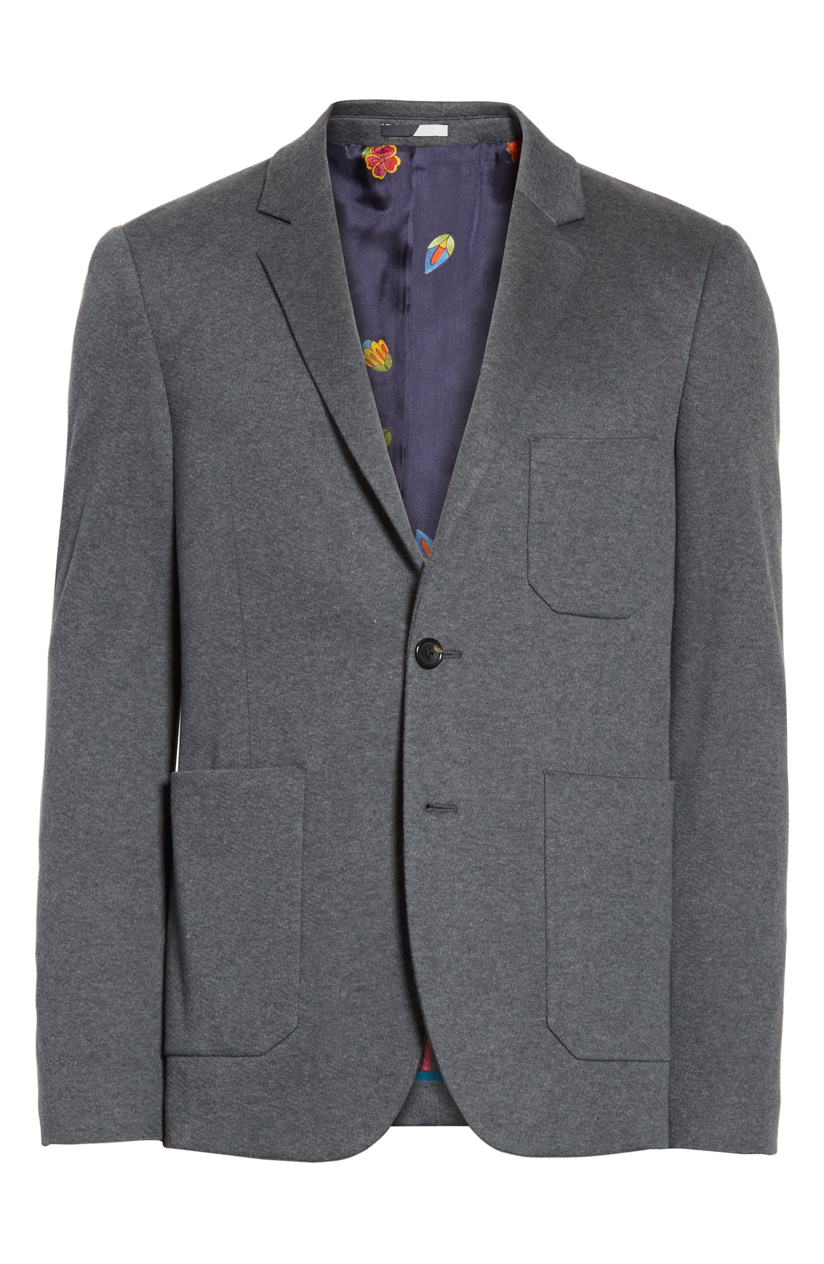 Slim Fit Sport Coat,                             Alternate thumbnail 6, color,                             Grey