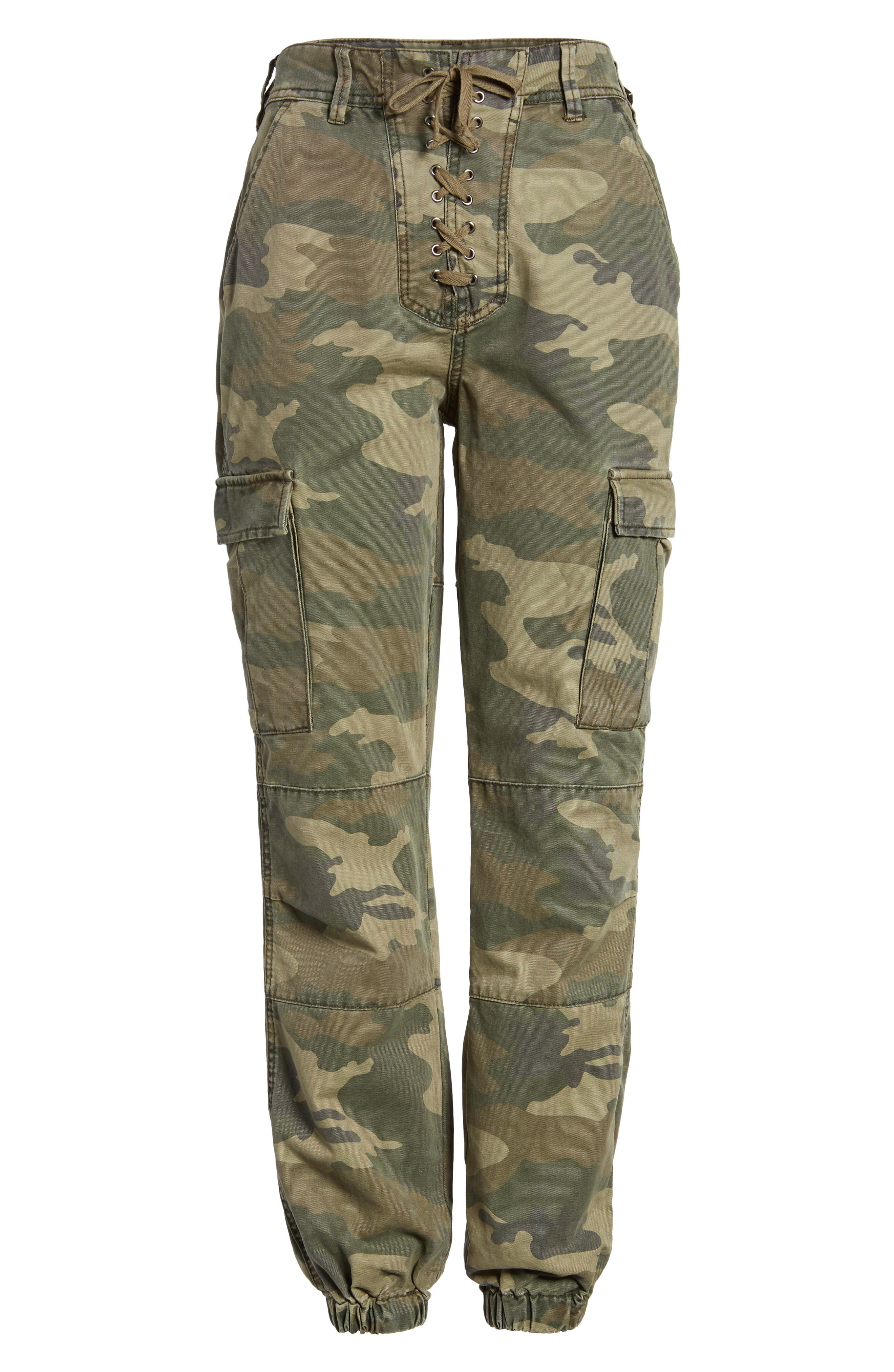 Alternate Image 6  - AFRM Sullivan Army Cargo Jogger Pants