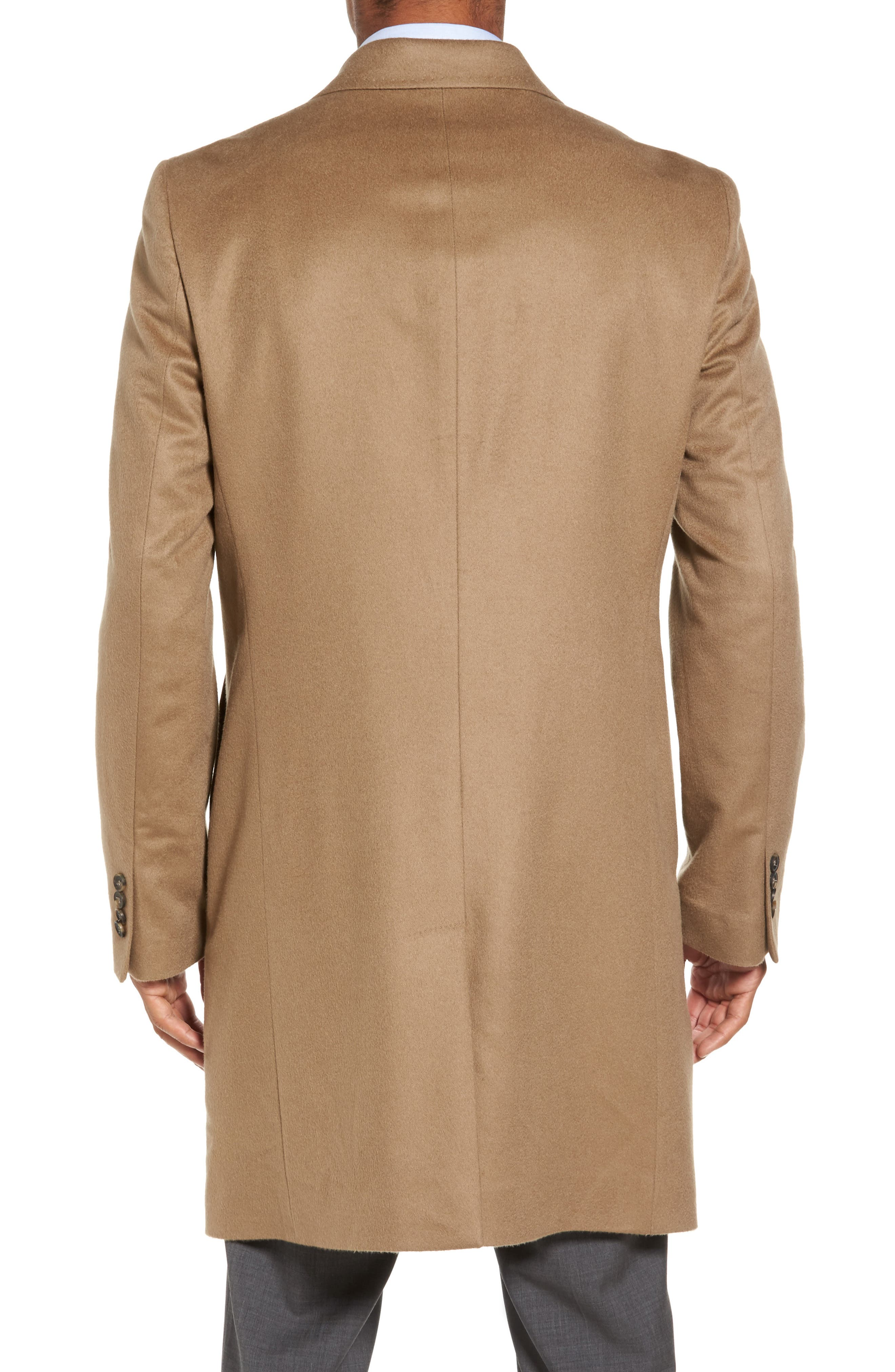 Alternate Image 2  - Monte Rosso Carter Classic Fit Cashmere Overcoat