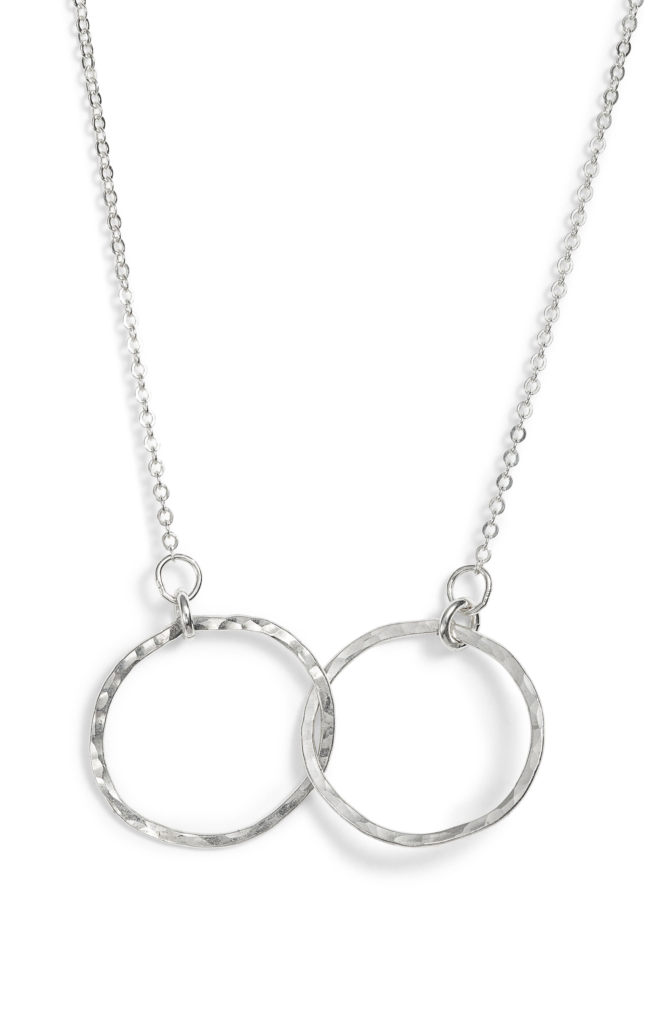 Lucky Eternity Necklace,                             Alternate thumbnail 2, color,                             Silver