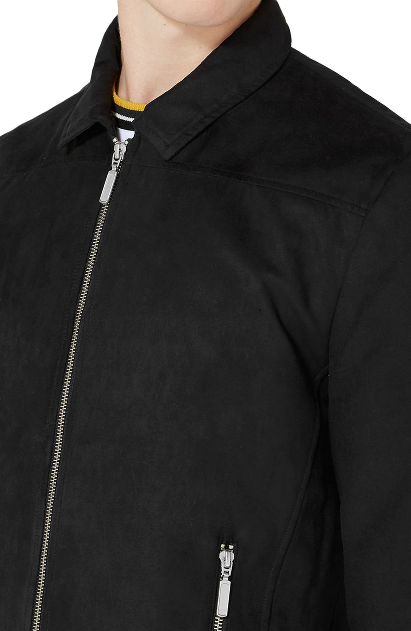 Alternate Image 3  - Topman Harrington Jacket