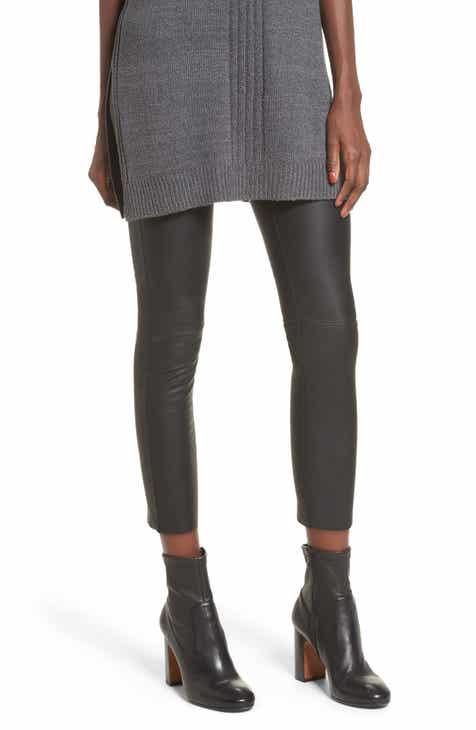 David Lerner Gemma High Waist Faux Leather Leggings 169b8c4ad
