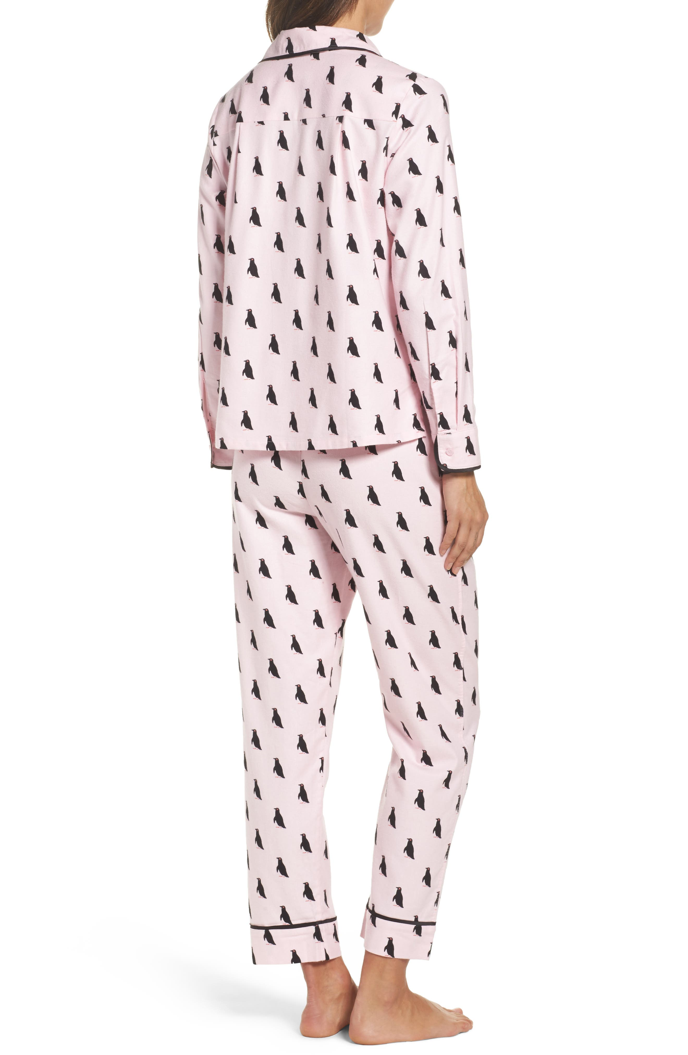 Alternate Image 2  - kate spade new york flannel pajamas