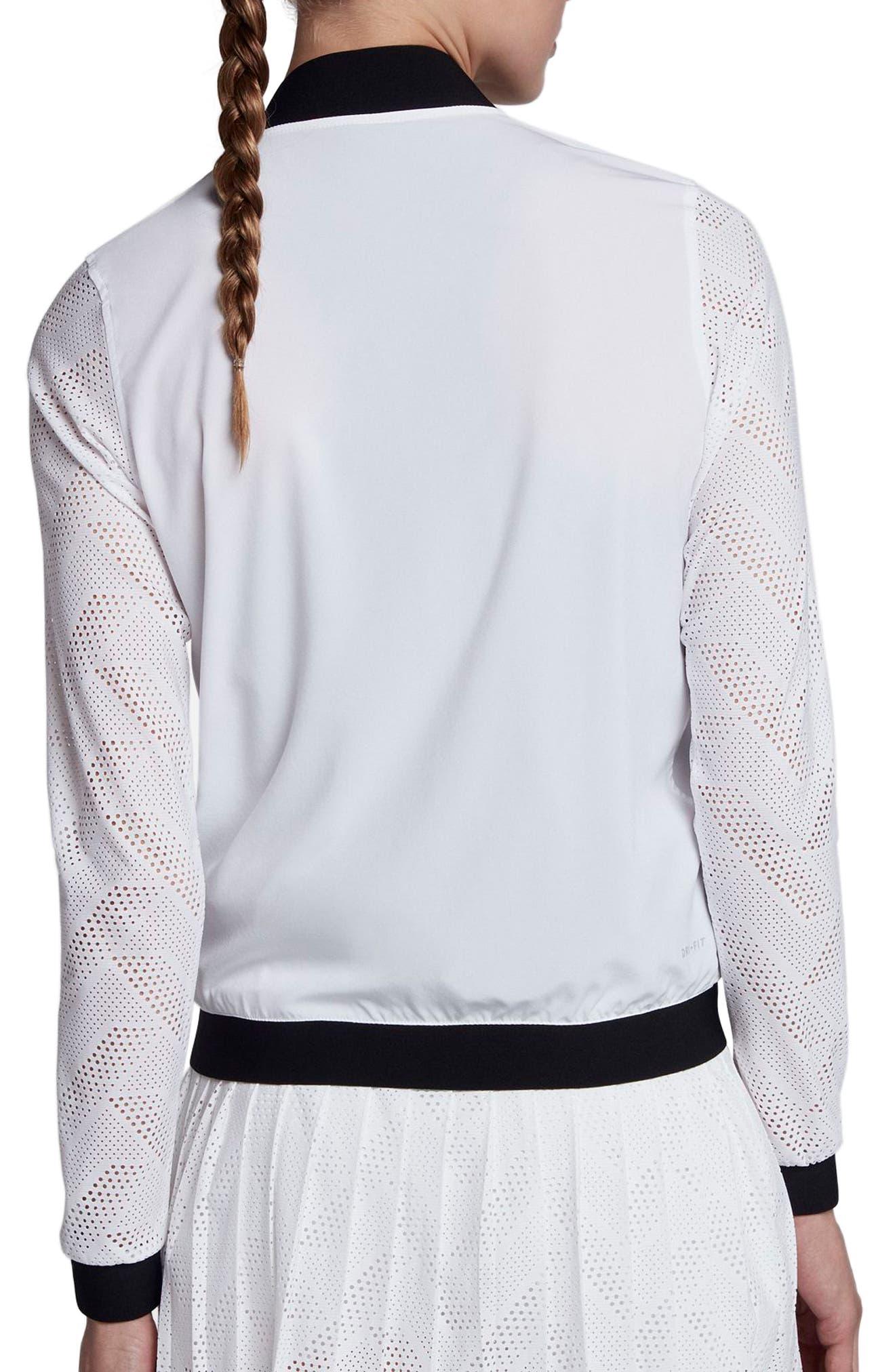 Alternate Image 2  - Nike NikeCourt Maria Tennis Jacket