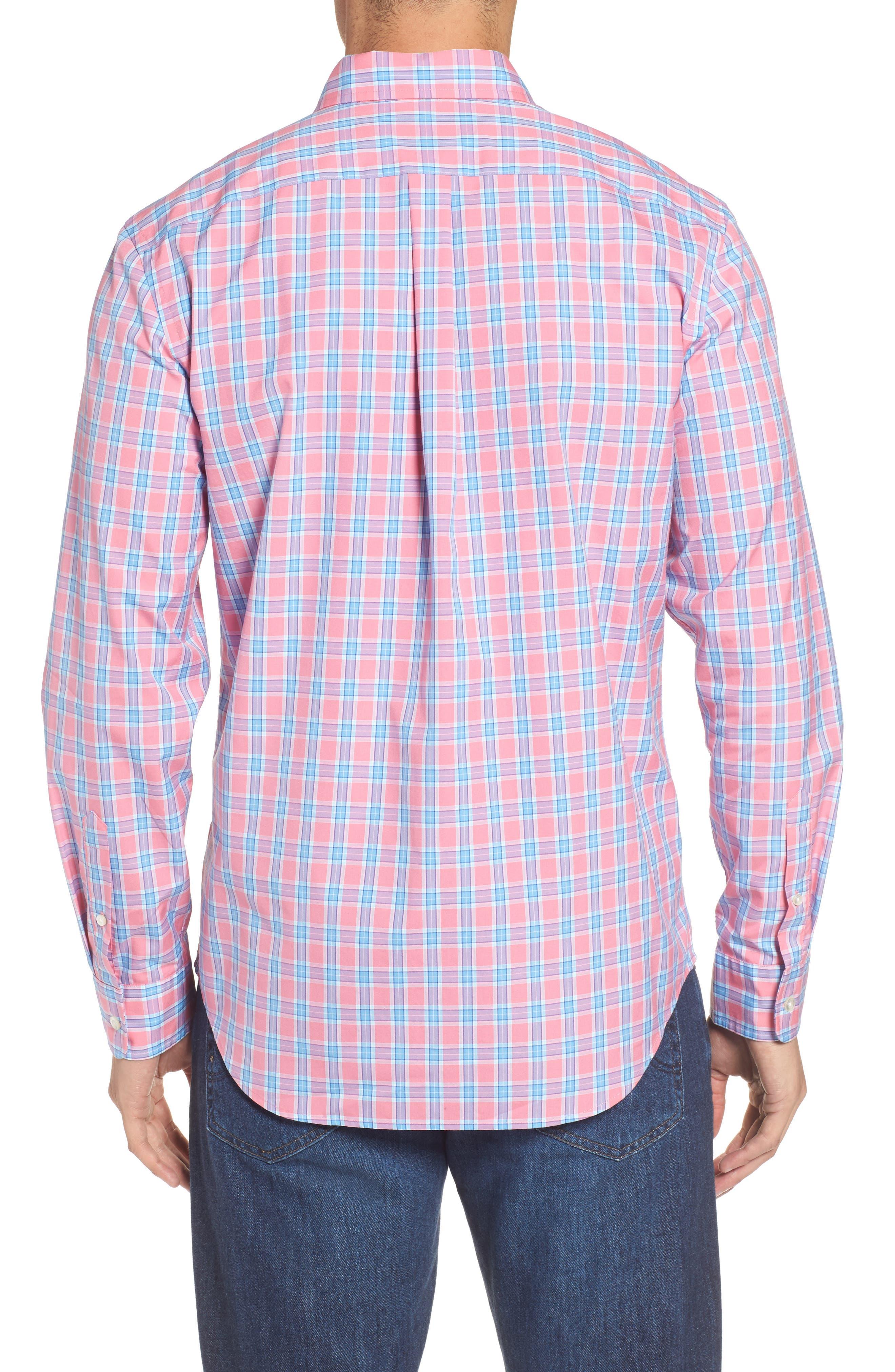 Alternate Image 2  - vineyard vines Tucker Bayard Classic Fit Plaid Sport Shirt