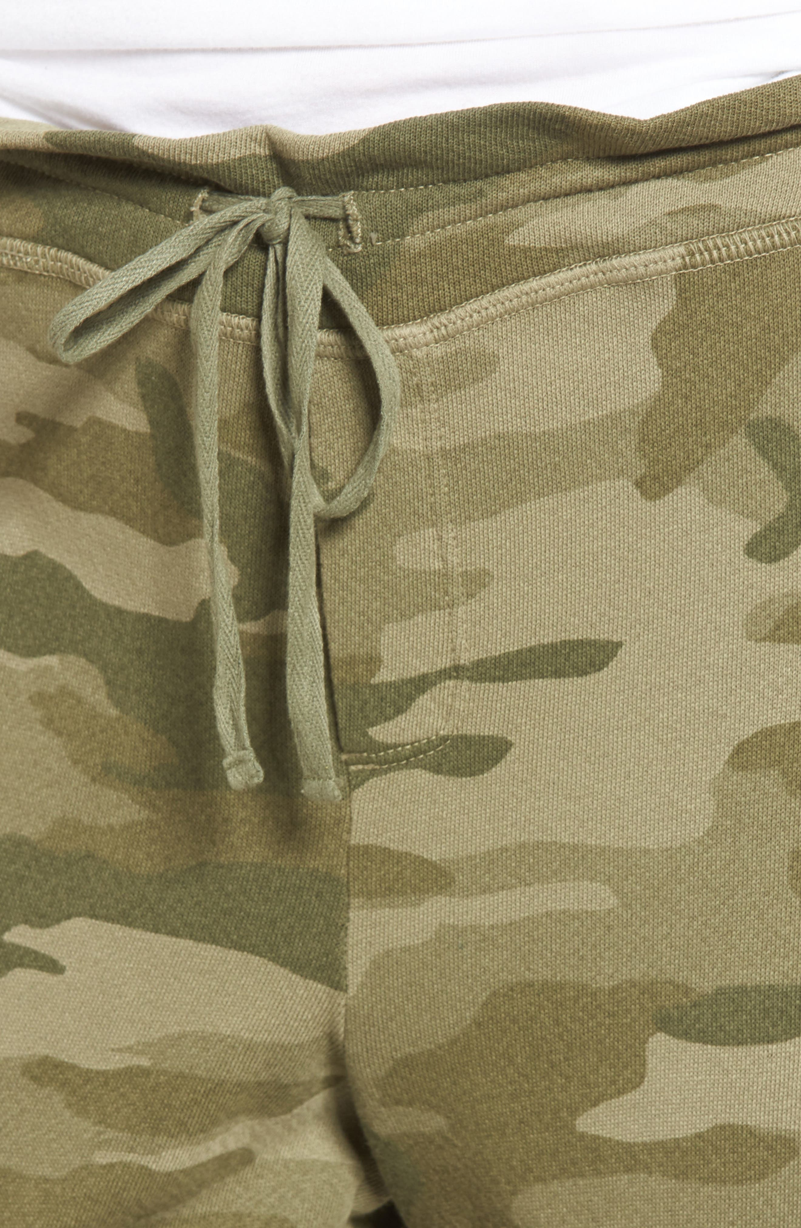 The Collegiate Sweatpants,                             Alternate thumbnail 4, color,                             Essentials Camo