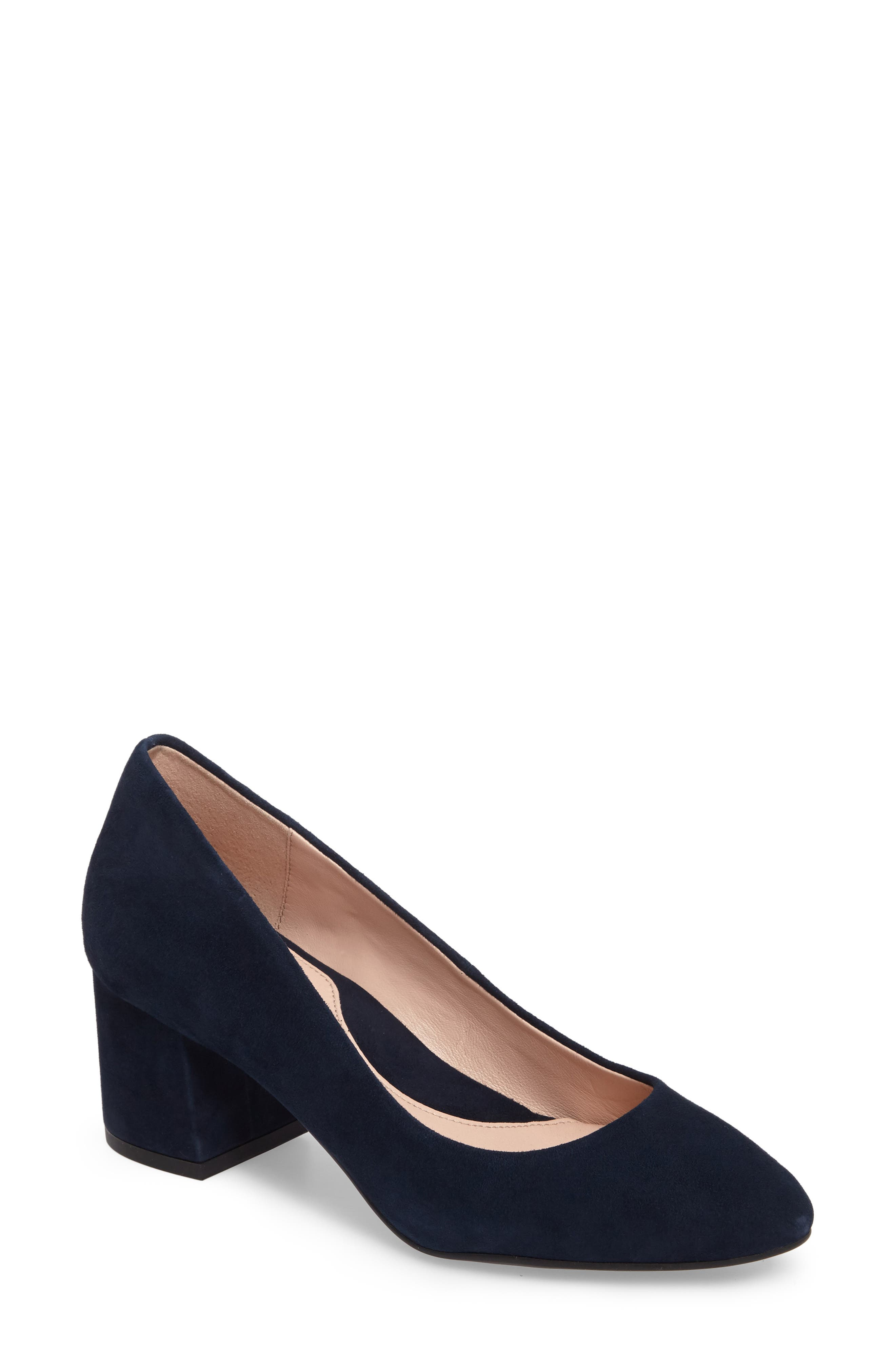 Main Image - Taryn Rose Rochelle Block Heel Pump (Women)