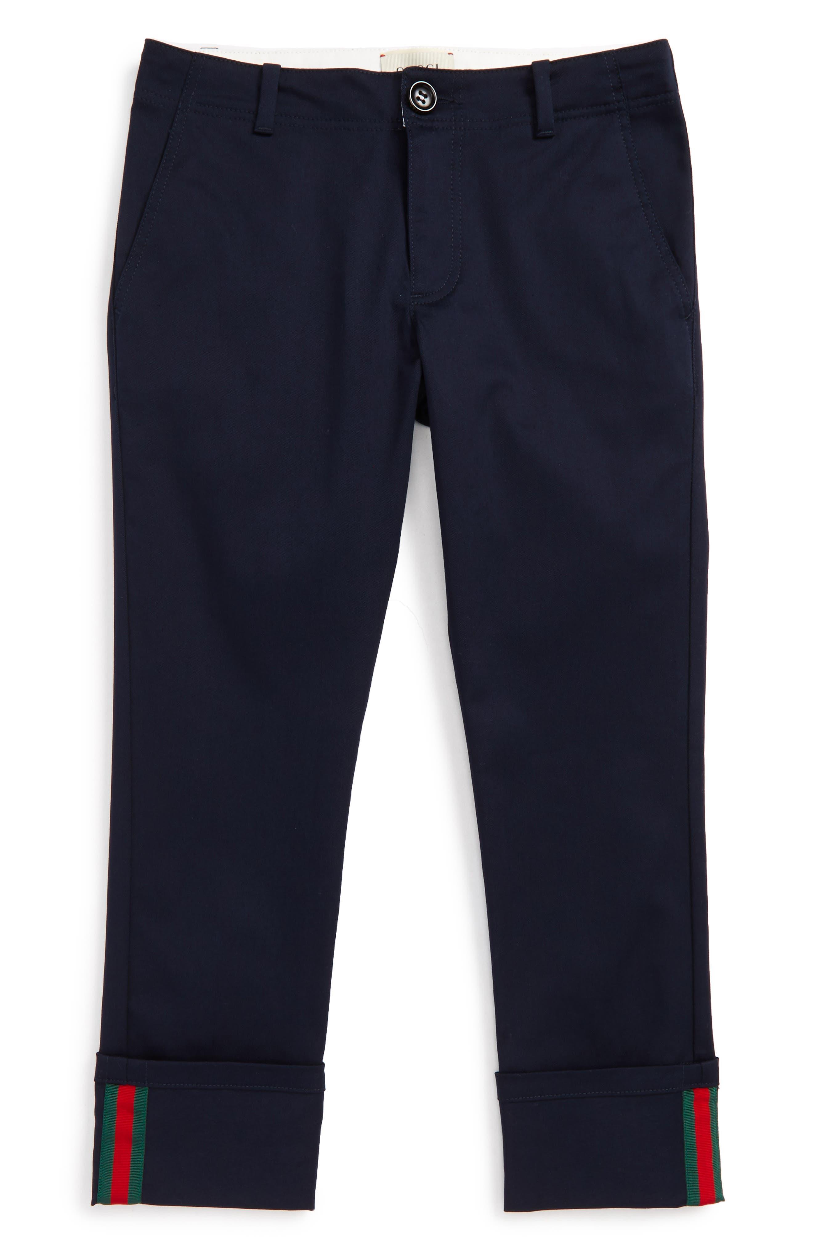 Alternate Image 1 Selected - Gucci Urban Stripe Pants (Little Boys & Big Boys)