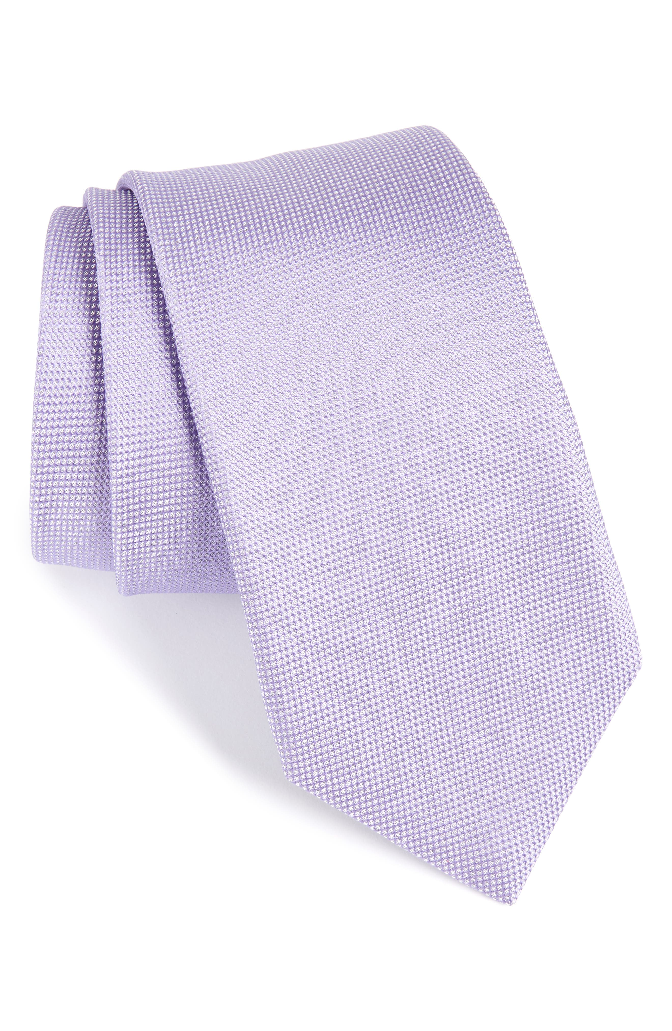 Alternate Image 1 Selected - BOSS Silk Tie