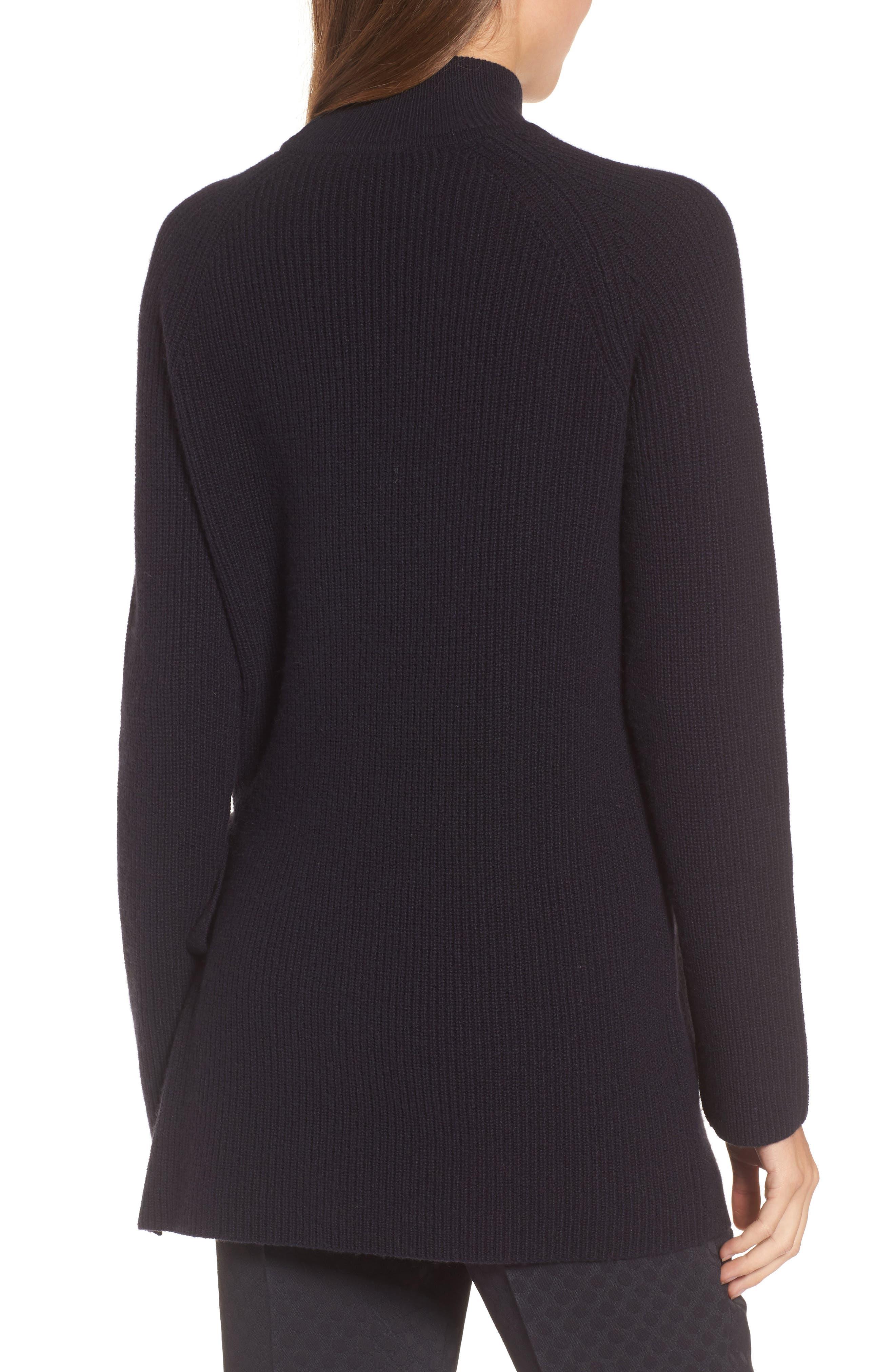 Alternate Image 2  - BOSS Filda Tie Side Wool Blend Sweater