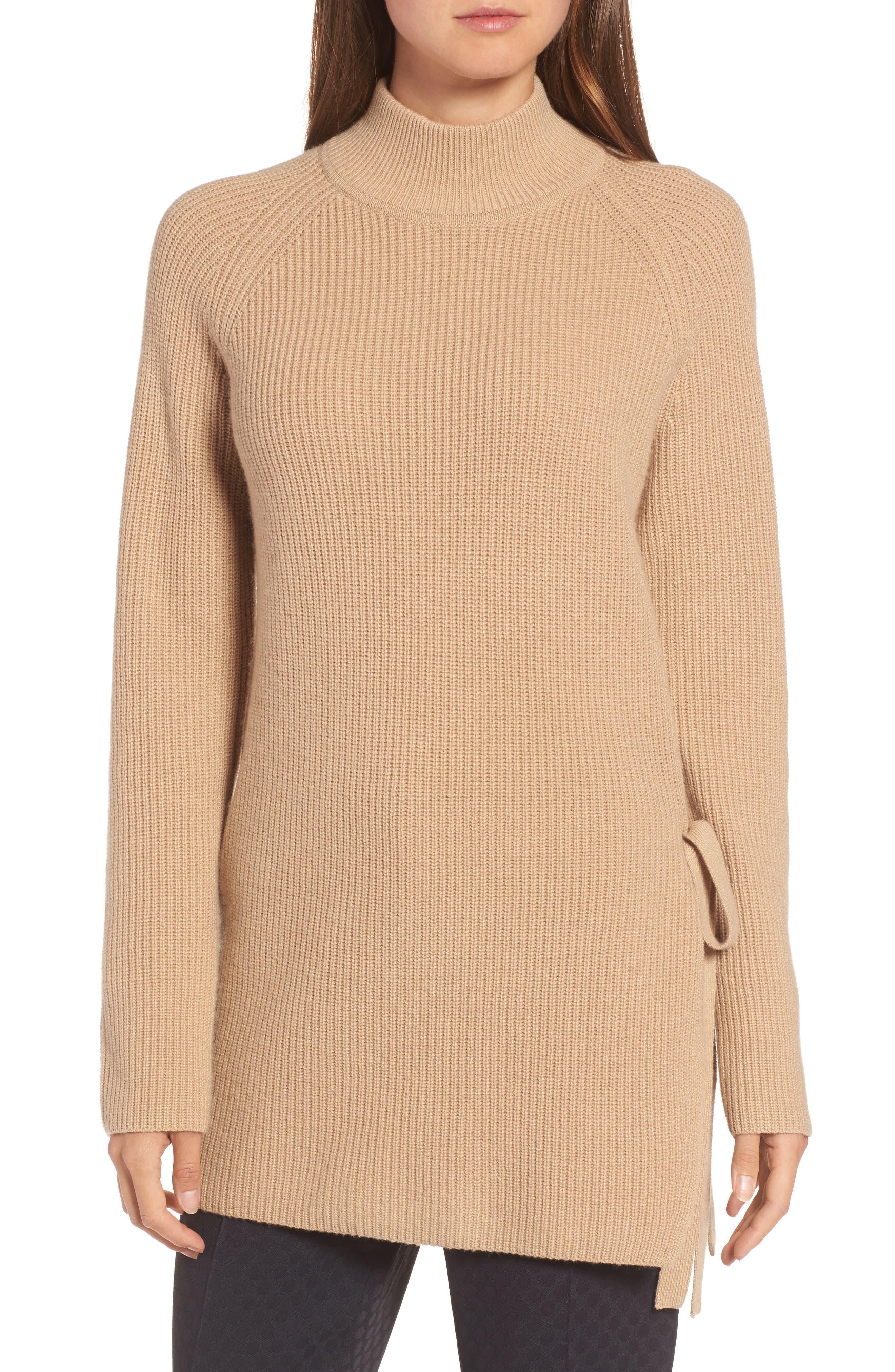 Main Image - BOSS Filda Tie Side Sweater