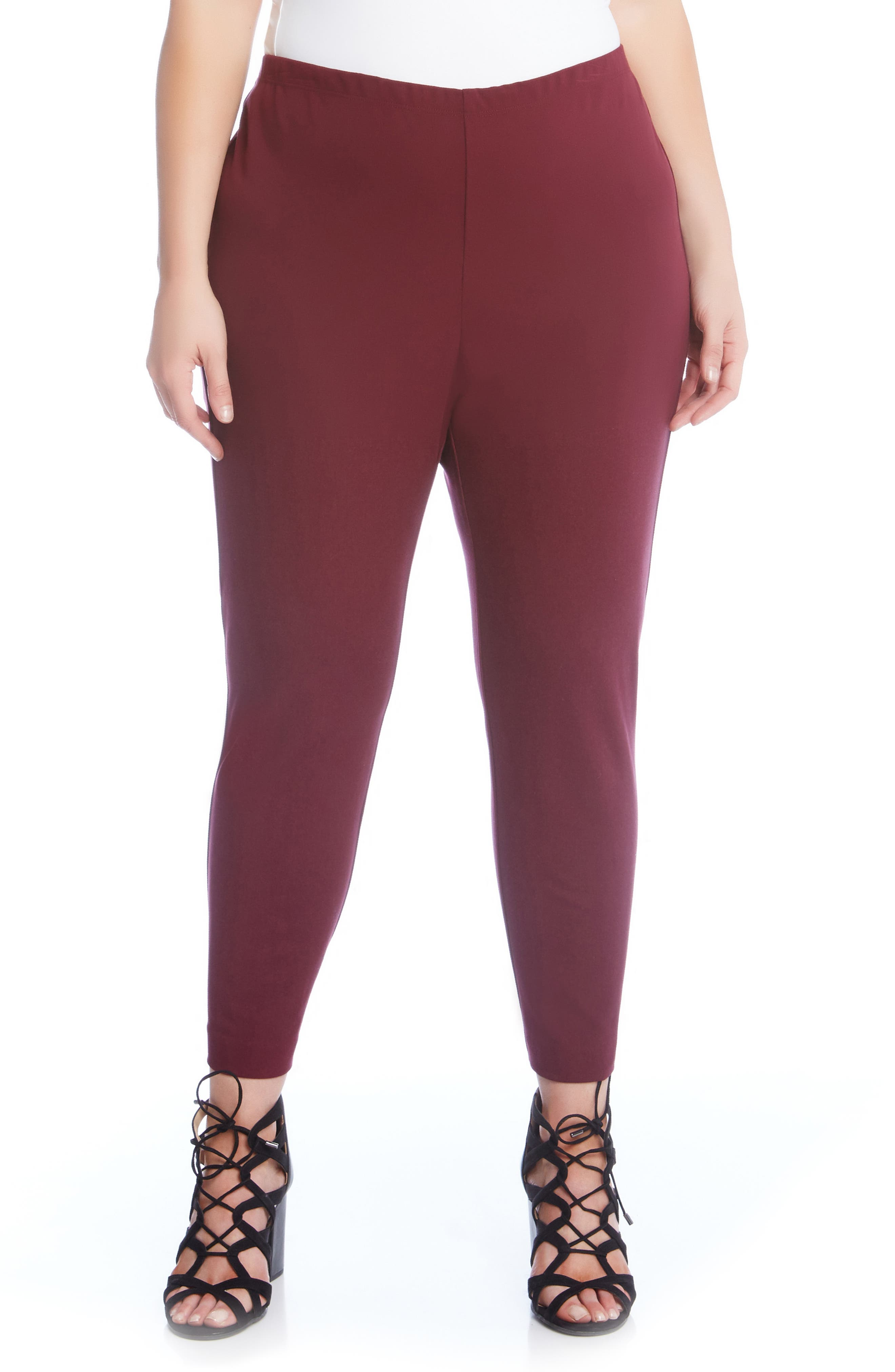 Piper High-Waist Pants,                         Main,                         color, Burgundy