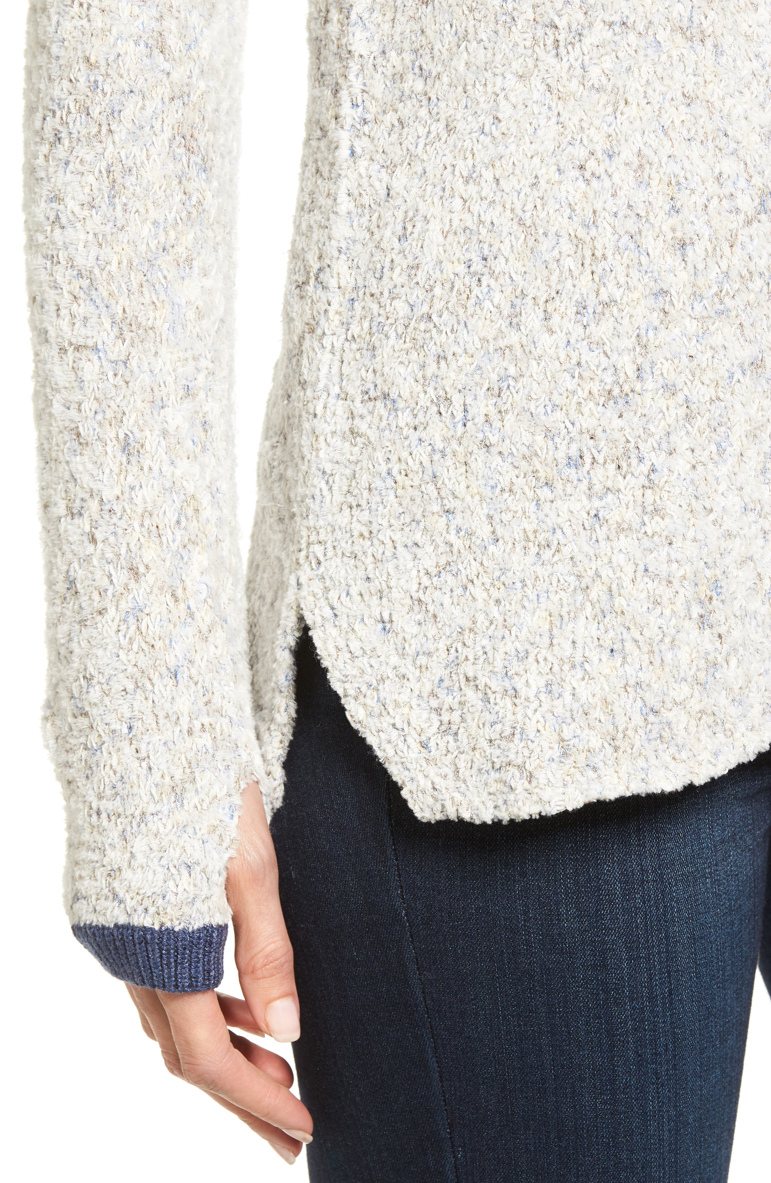 Marled Montreal Sweater,                             Alternate thumbnail 4, color,                             Grey Multi