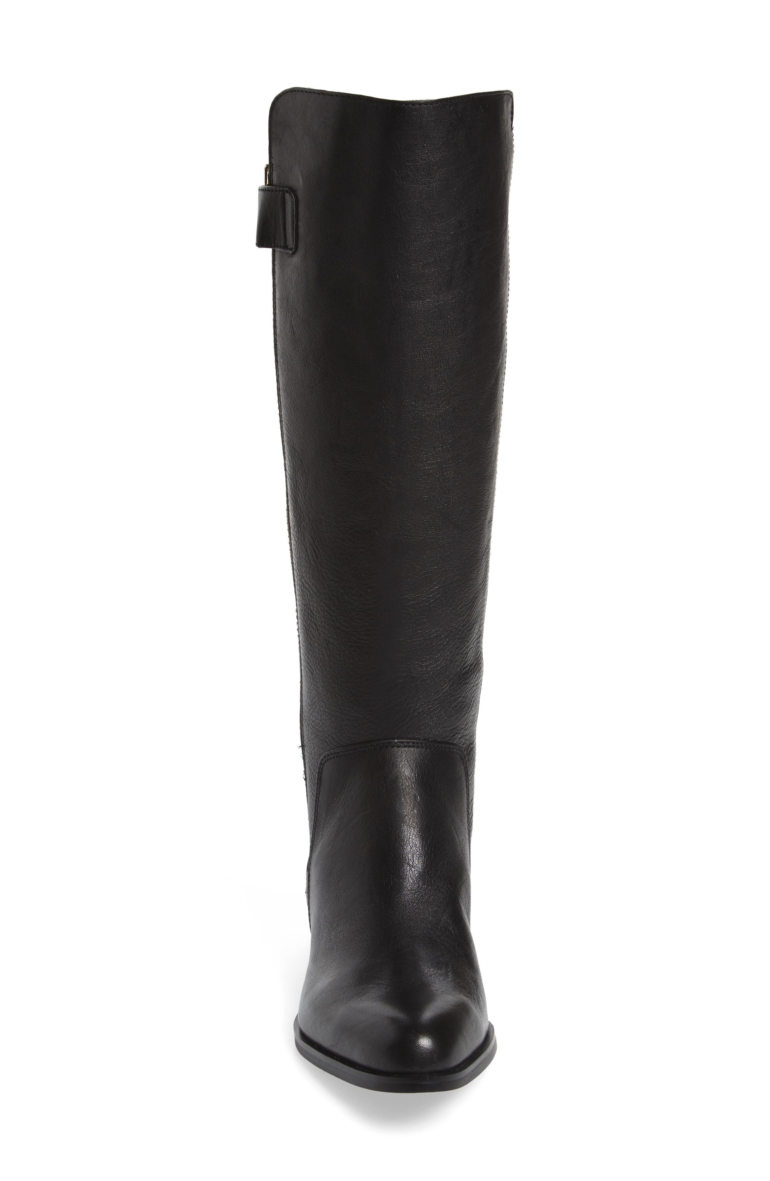 Melino Boot,                             Alternate thumbnail 4, color,                             Black Leather