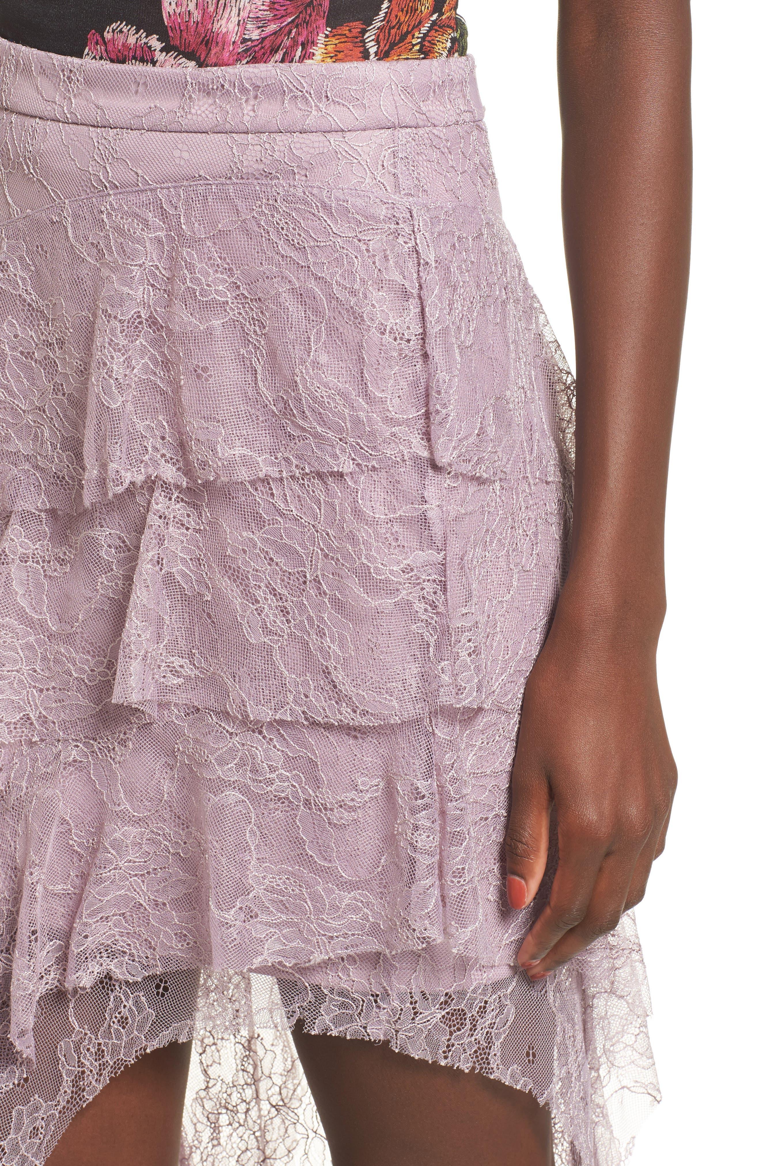 Alternate Image 4  - AFRM Emilia Ruffle Maxi Skirt