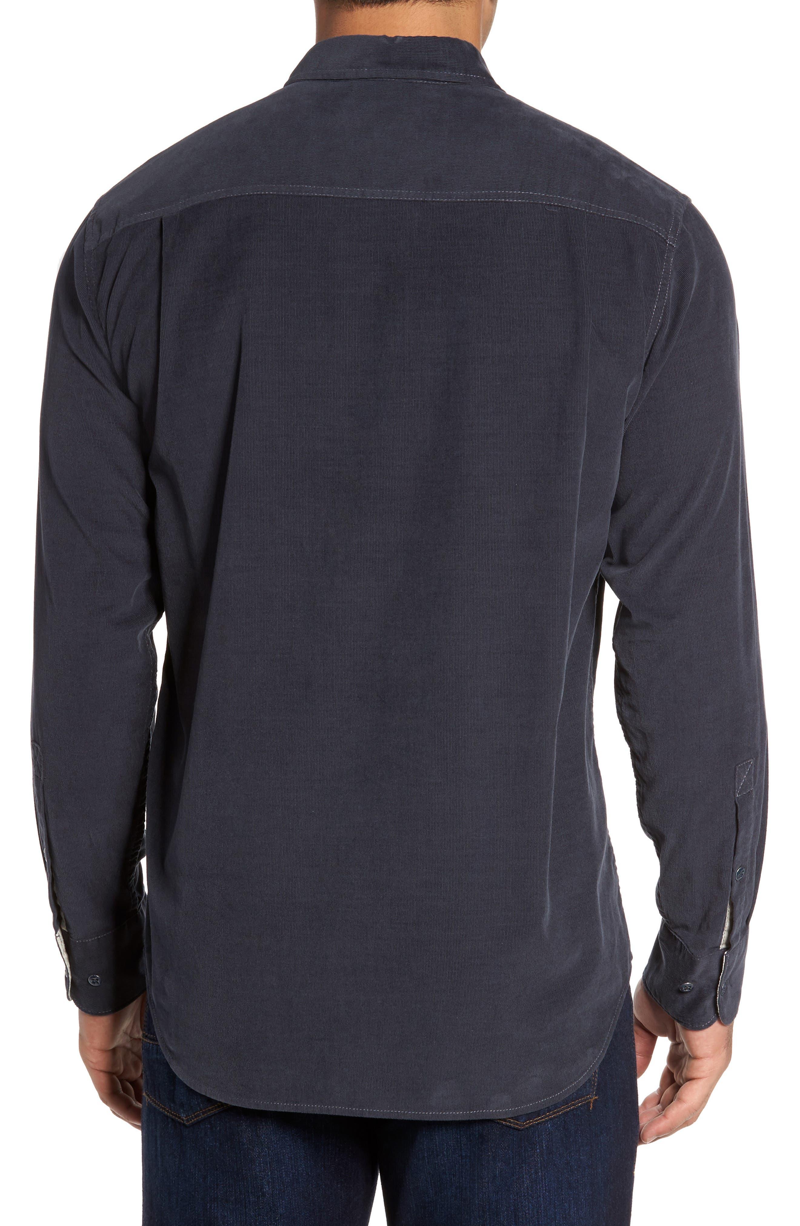 Alternate Image 2  - Tommy Bahama Harrison Cord Standard Fit Shirt