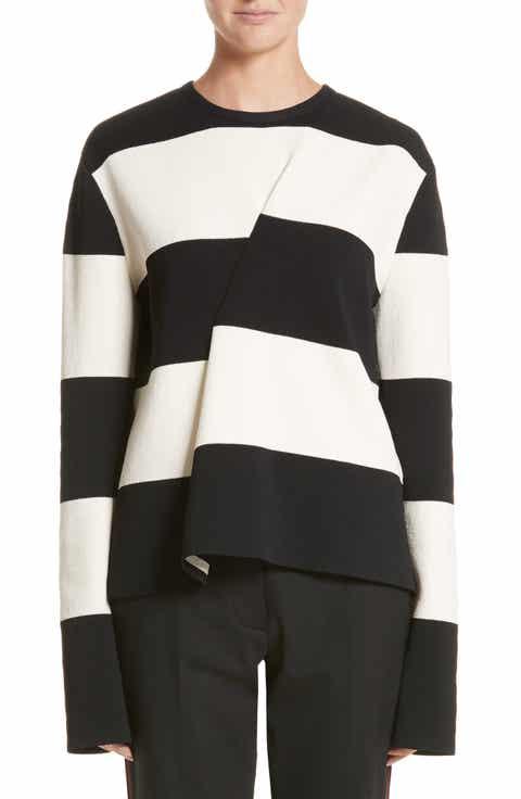Calvin Klein 205W39NYC Folded Stripe Sweater