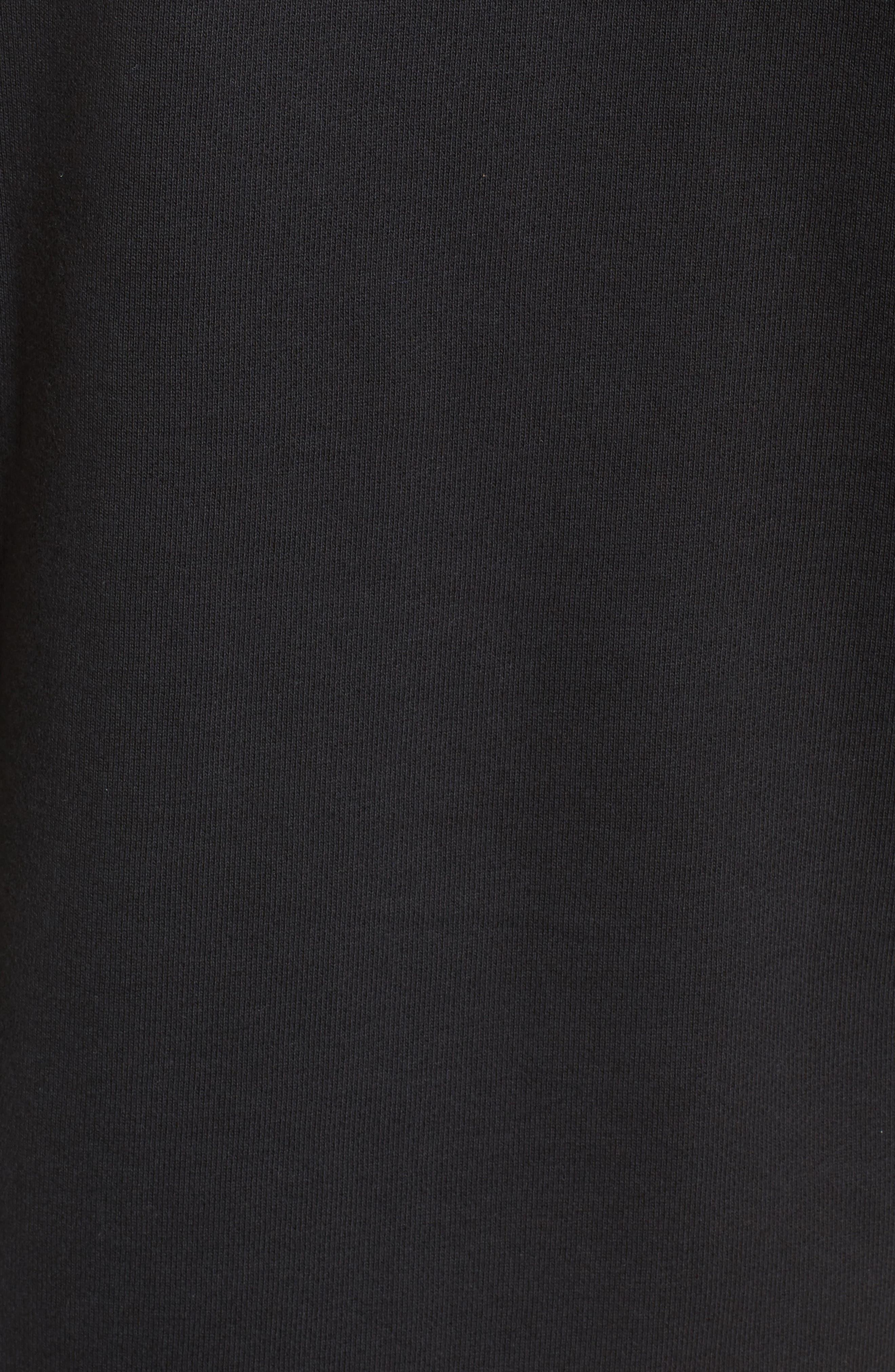 Sportswear City of Flight Hooded T-Shirt,                             Alternate thumbnail 5, color,                             Black/ White